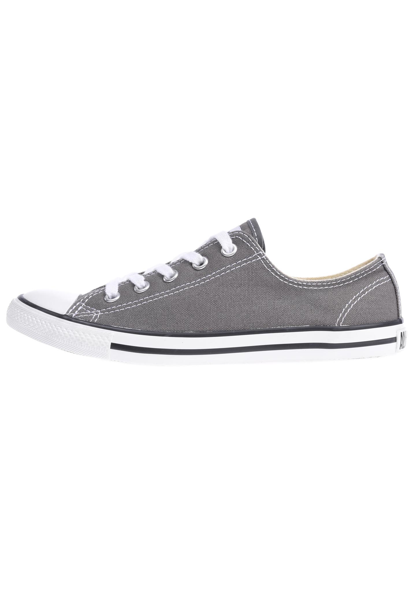 365fcf8e208 Converse Chuck Taylor All Star Dainty Ox - Sneakers voor Dames - Grijs -  Planet Sports