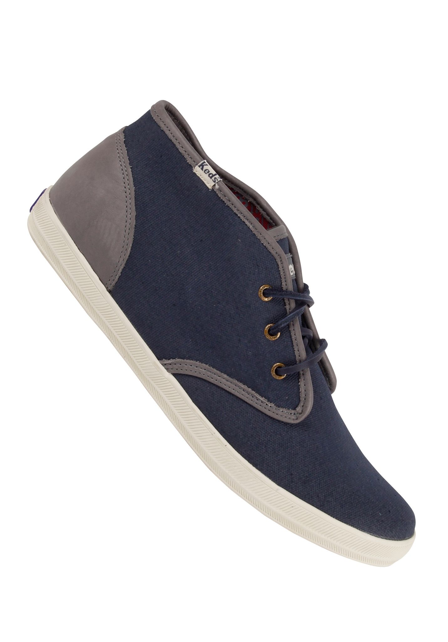9e7046a29a4cd Keds Champion Chukka oiled Canvas navy - Boots for Men - Blue - Planet  Sports