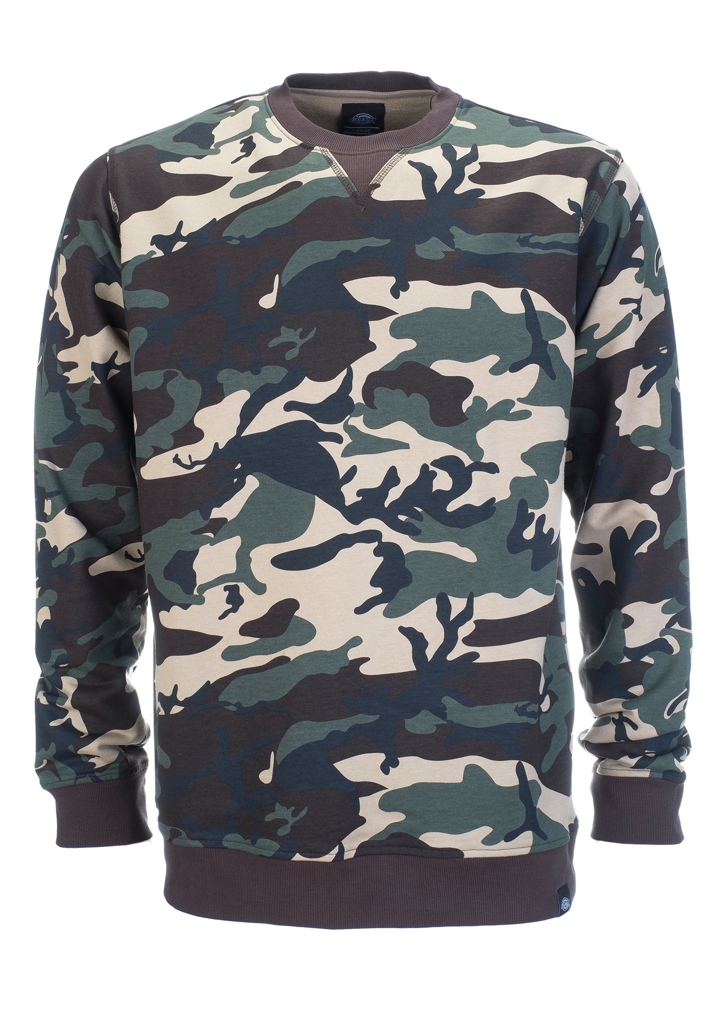 Dickies Washington - Sweatshirt for Men - Camo - Planet Sports 6604a492219