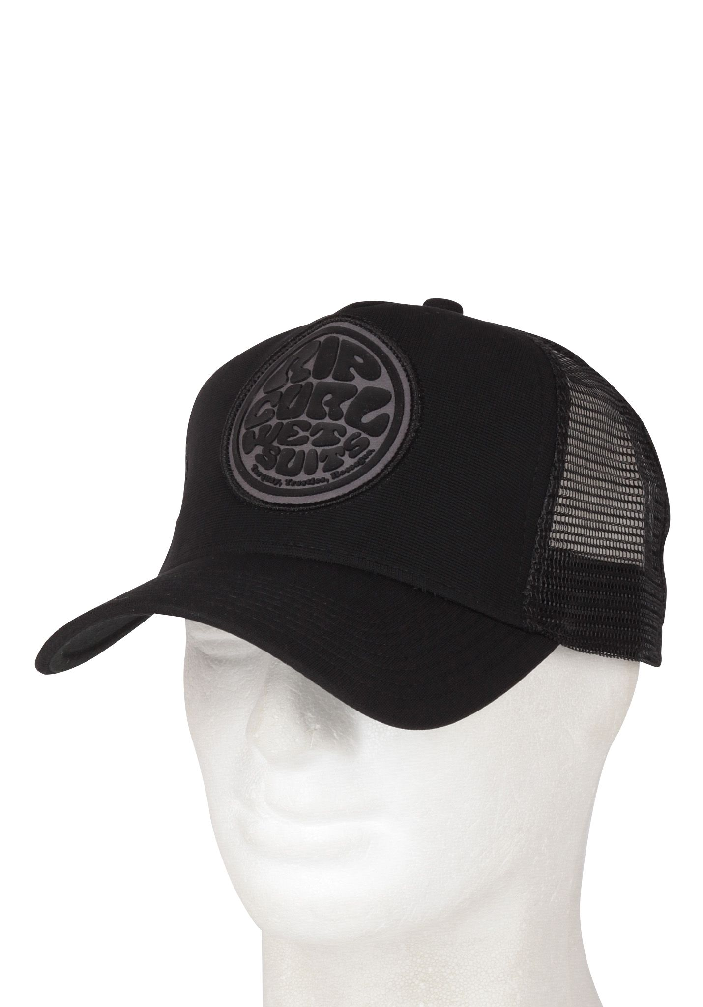 feae00e791cb3 Rip Curl Wetty Trucker Cap - Trucker Cap for Men - Black - Planet Sports