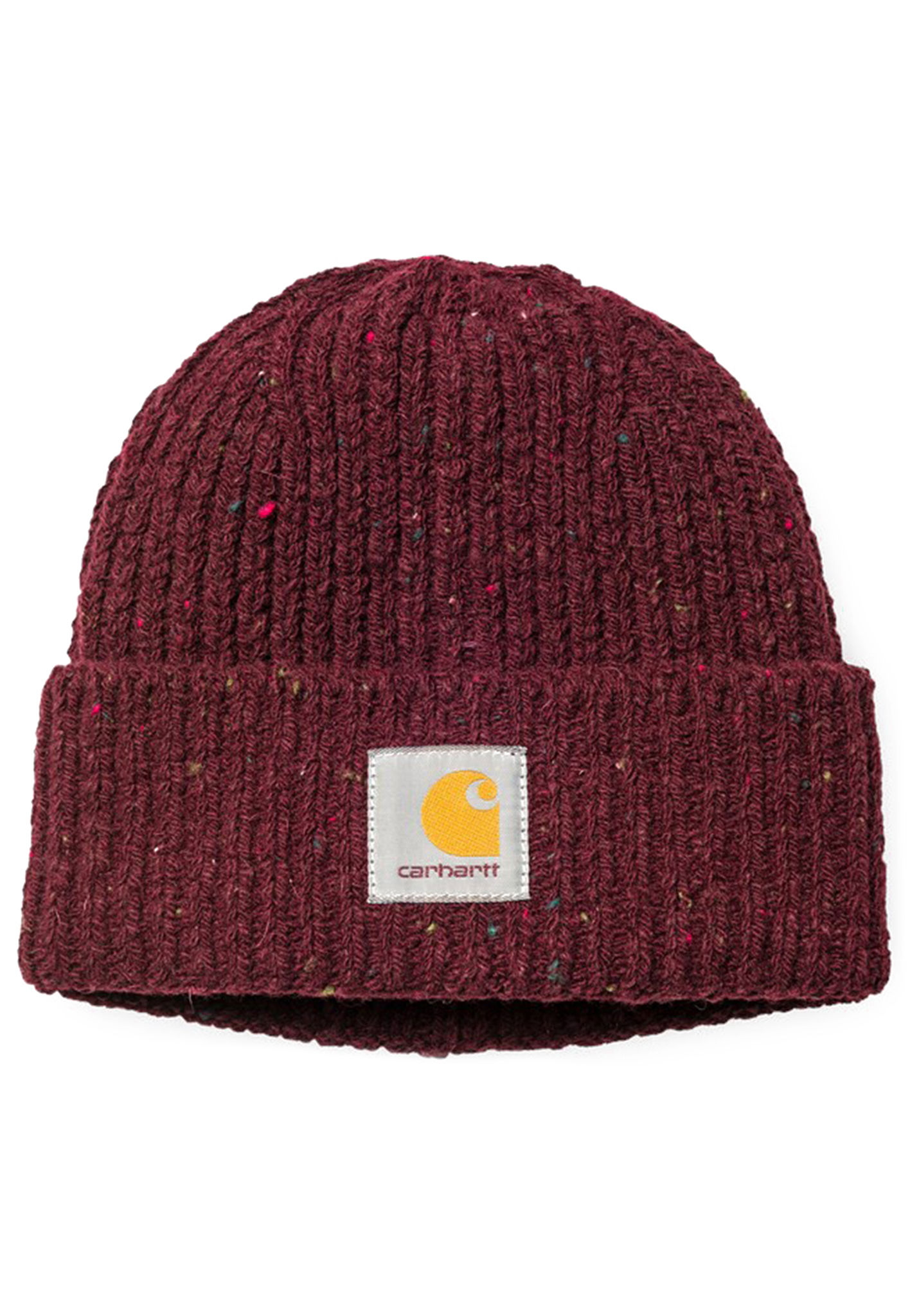 68041d9f533 carhartt WIP Anglistic - Beanie for Men - Red - Planet Sports