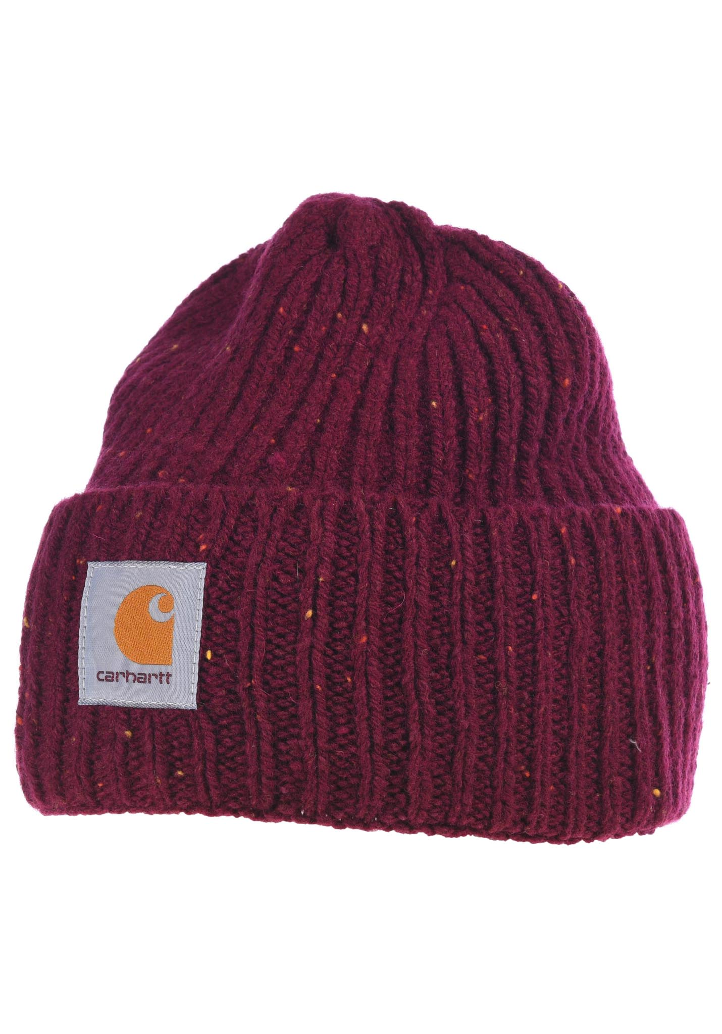40aa747cc4015 carhartt WIP Anglistic - Beanie - Red - Planet Sports