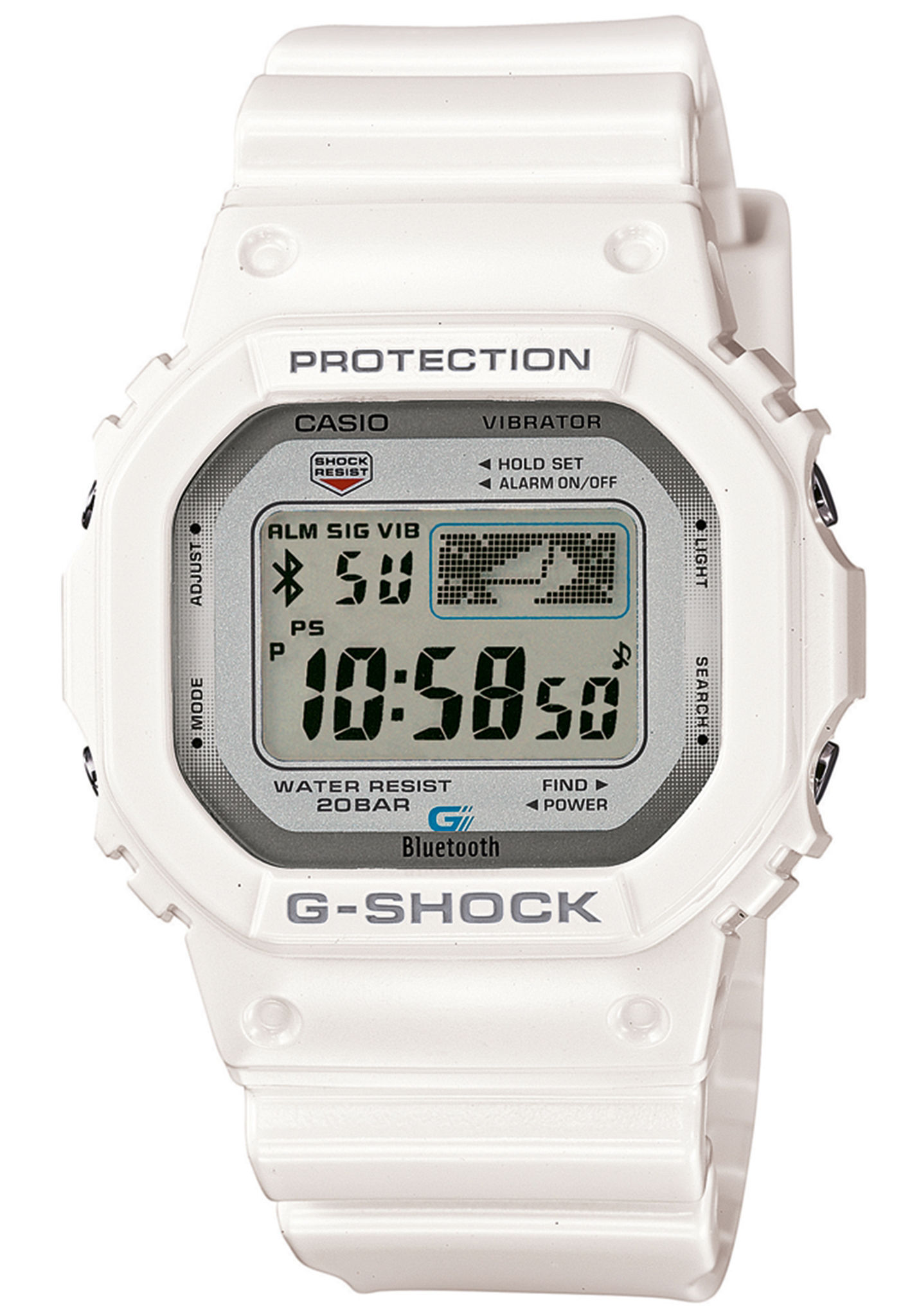 be124e2b098d8c G-SHOCK GB-5600AA-7ER - Orologi per Uomo - Bianco - Planet Sports