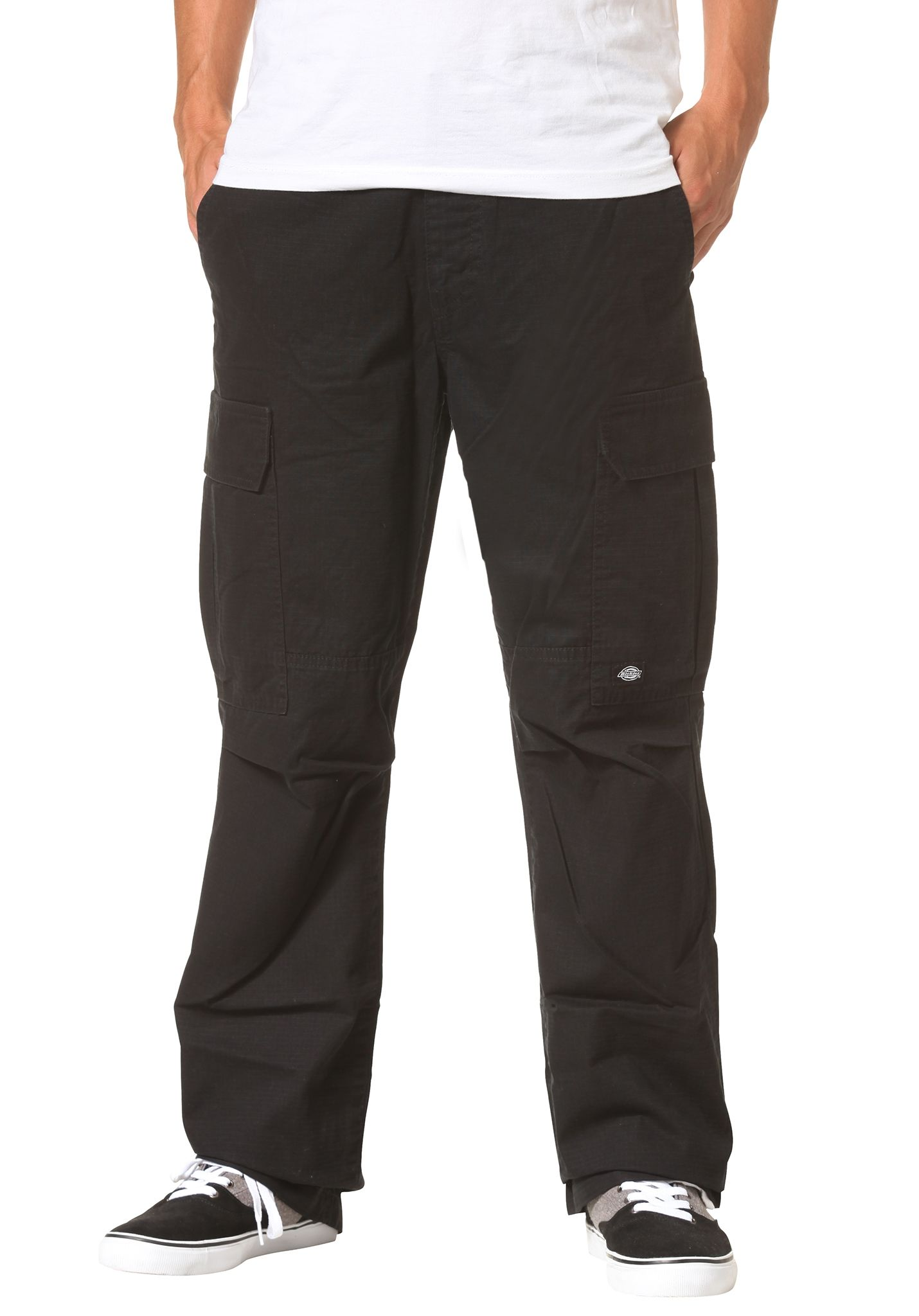super specials rock-bottom price select for original Dickies New York - Cargo Pants for Men - Black