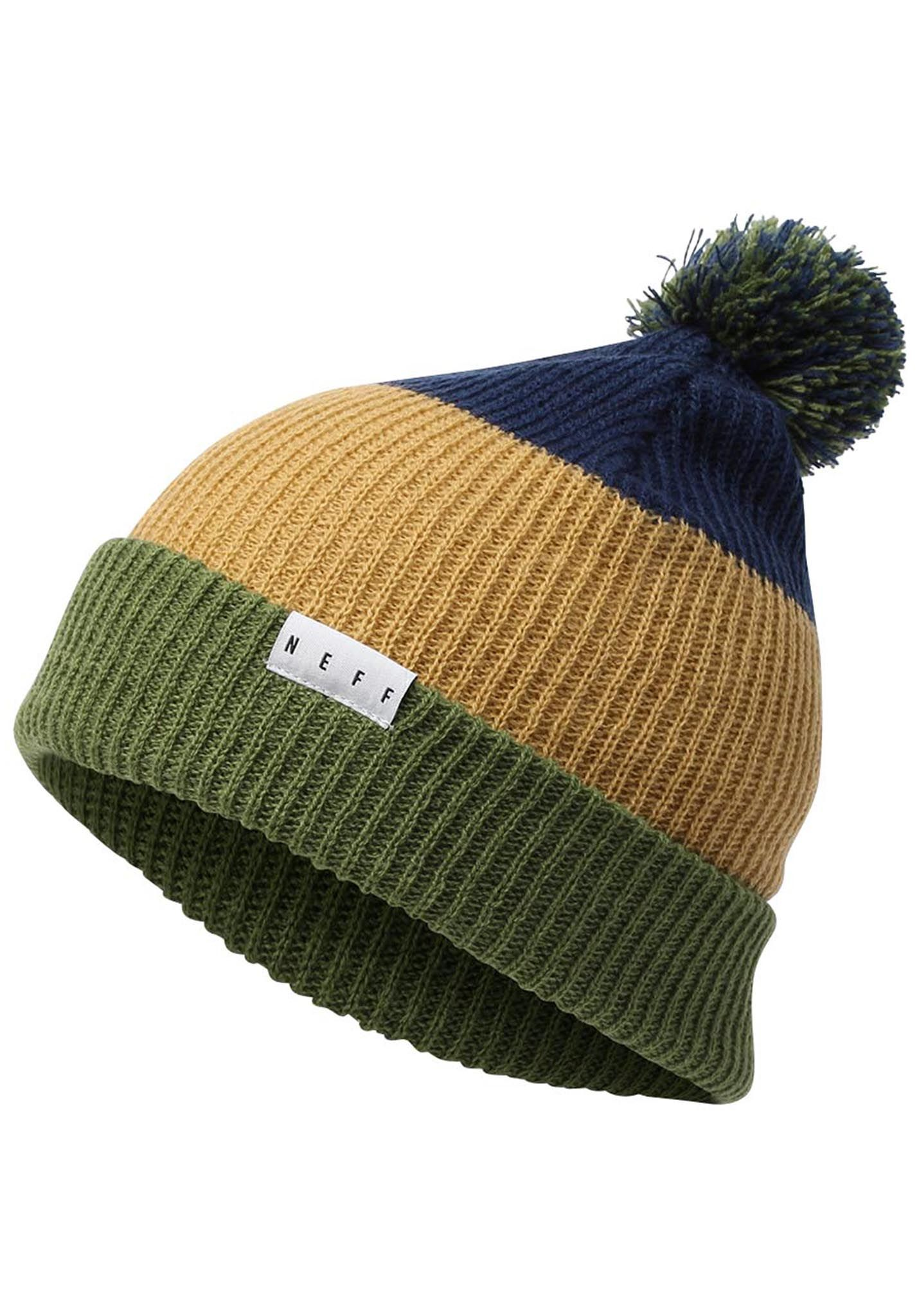 NEFF Snappy - Beanie - Multicolor - Planet Sports 95a47958dcc