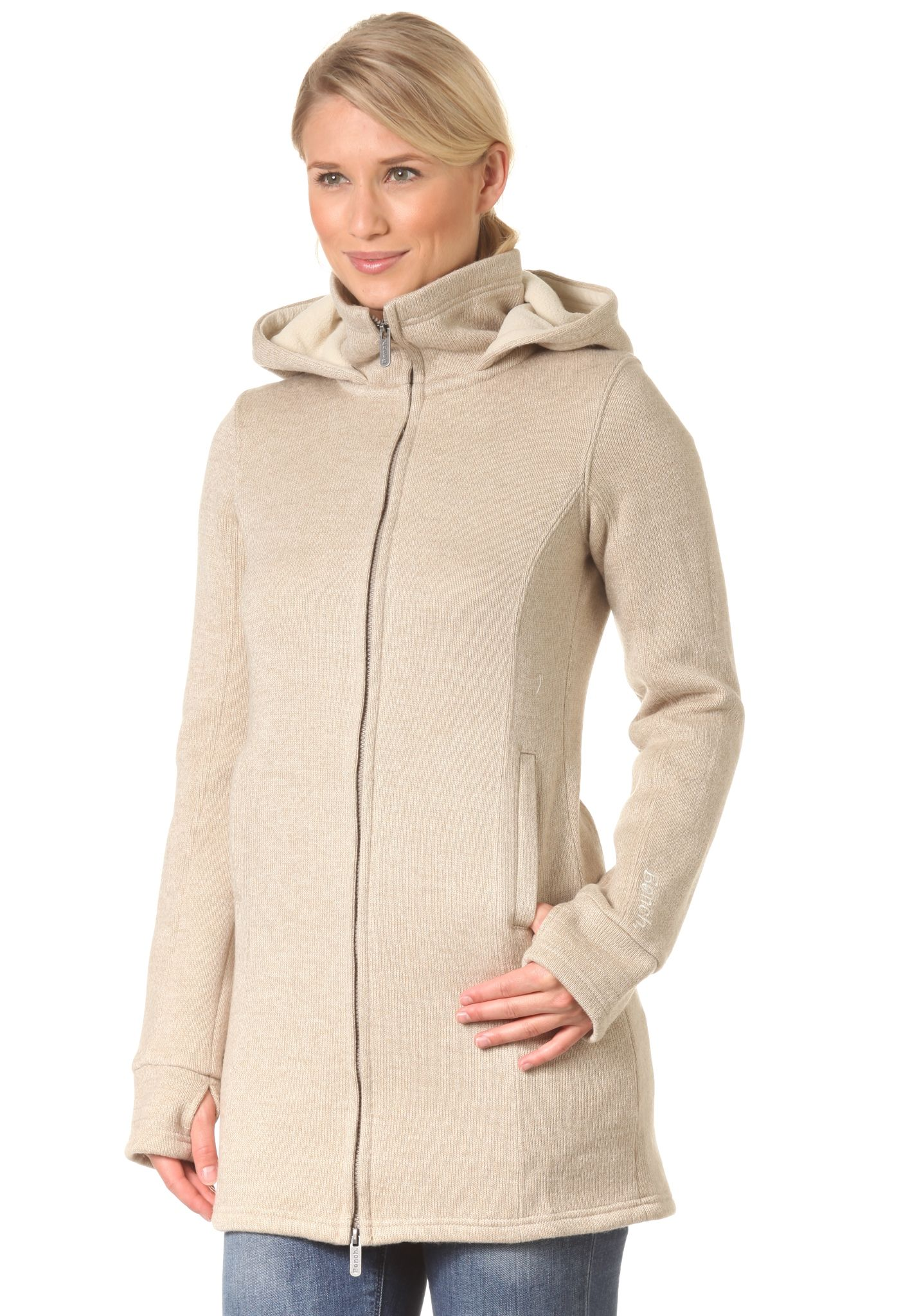 Knit Für Bench Jacket Damen Planet Beige Strickjacke Bradie