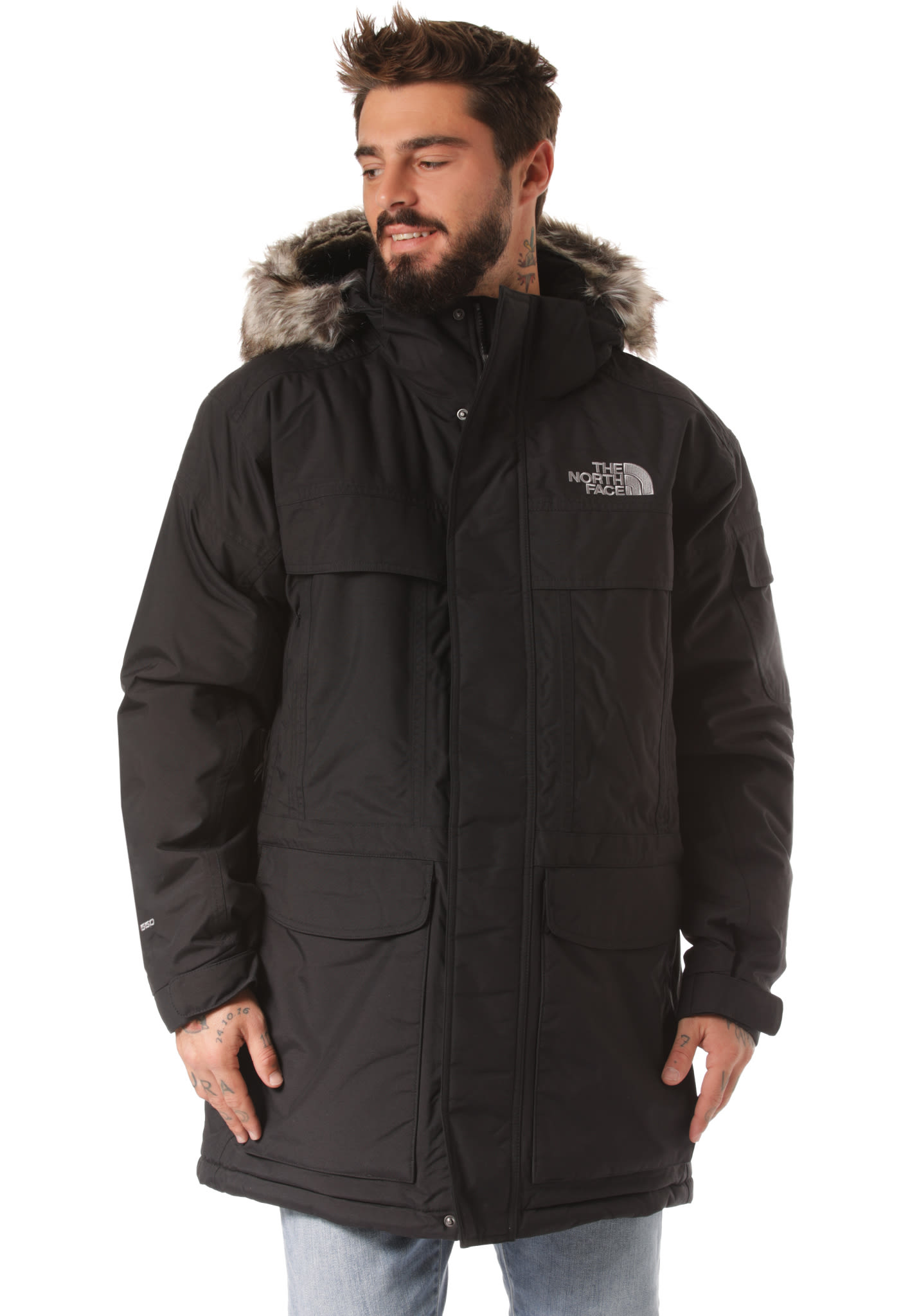 c85af20e4f870 THE NORTH FACE Mcmurdo - Functional Jacket for Men - Black - Planet Sports