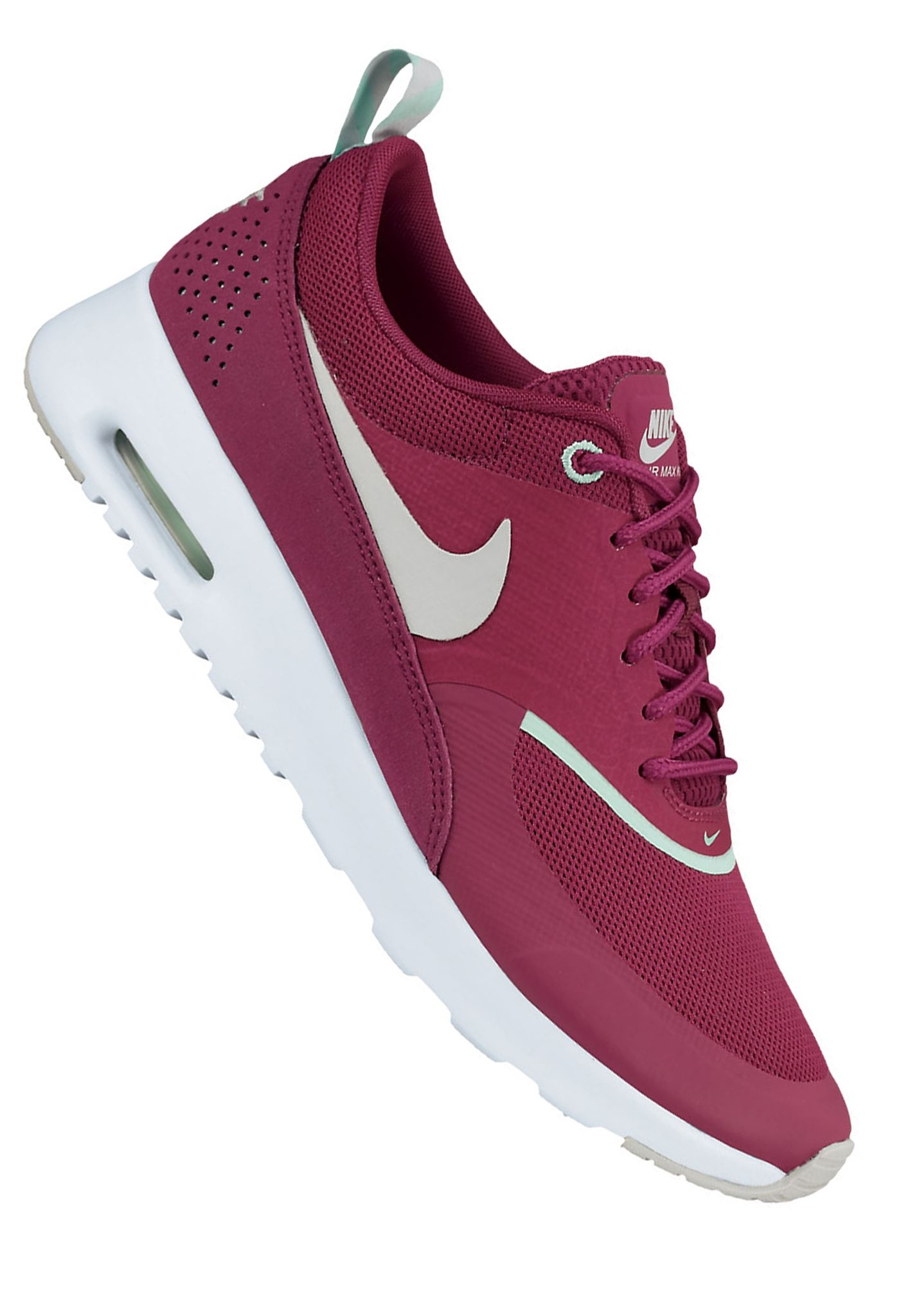 nike sportswear air max thea sneakers action red. Black Bedroom Furniture Sets. Home Design Ideas