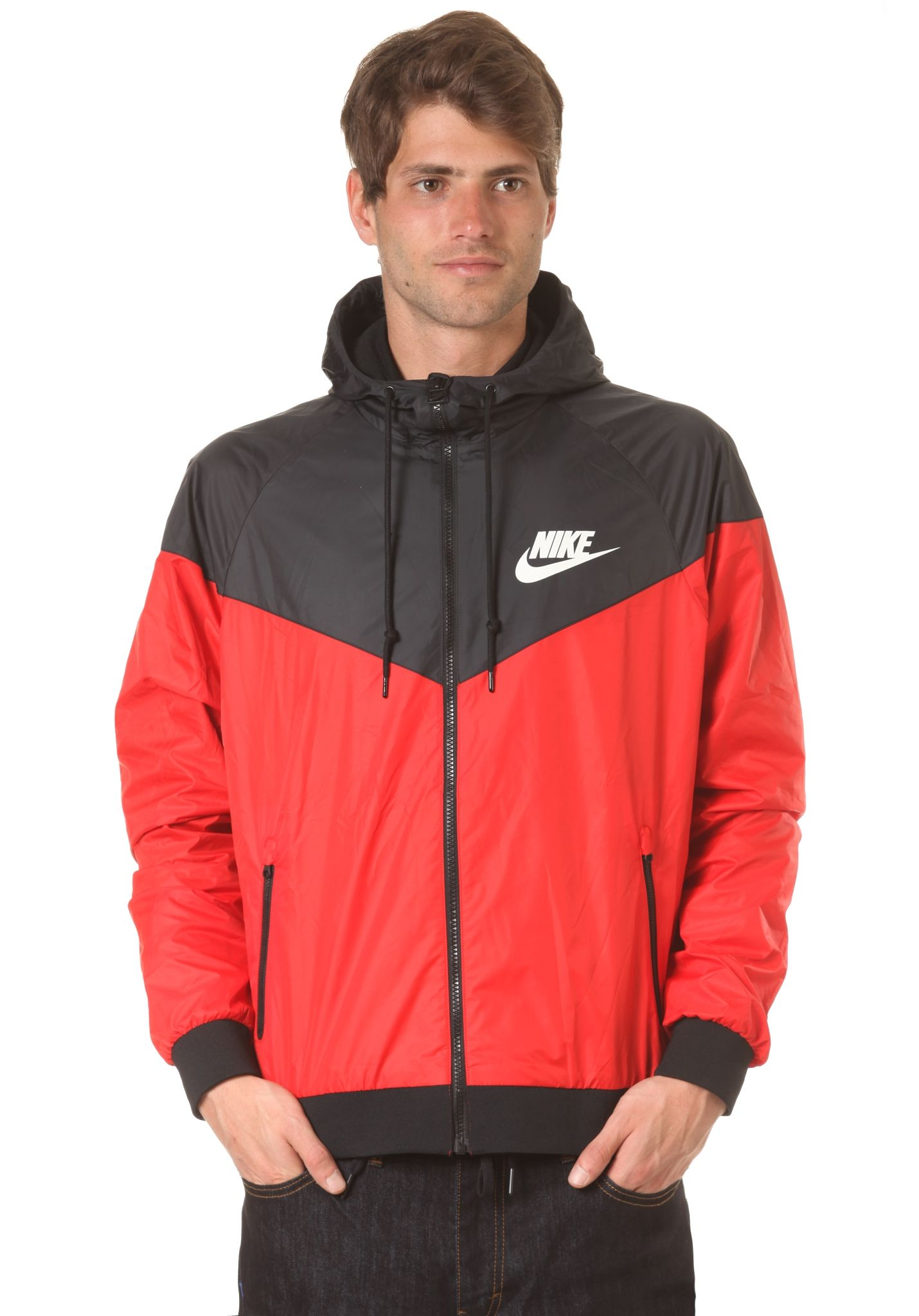 NIKE SPORTSWEAR Windrunner Jacket - Jacket for Men - Red - Planet Sports f27334426