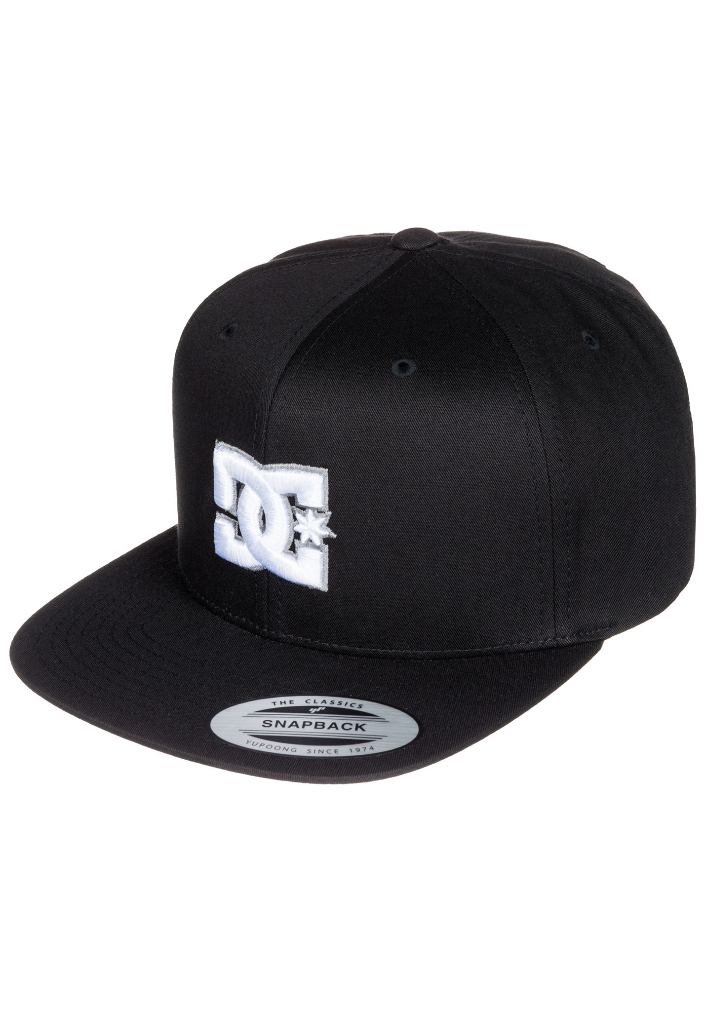 DC Snappy - Snapback Cap for Men - Black - Planet Sports 1e76fb9ae16