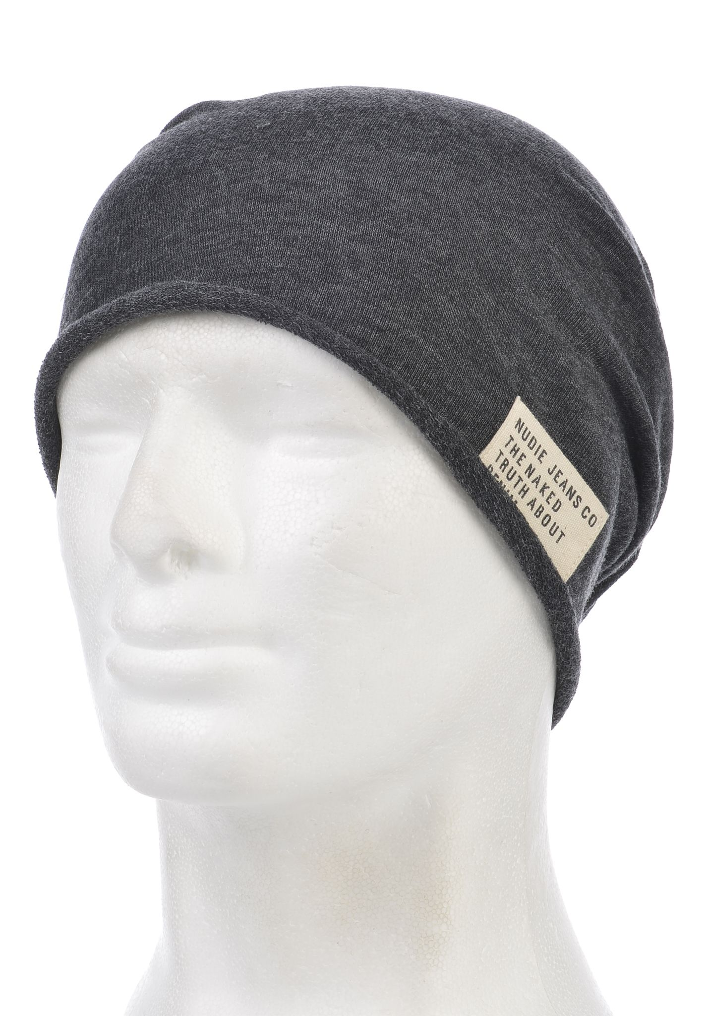 NUDIE JEANS Luigisson - Beanie for Men - Black - Planet Sports 9a3763d3f260