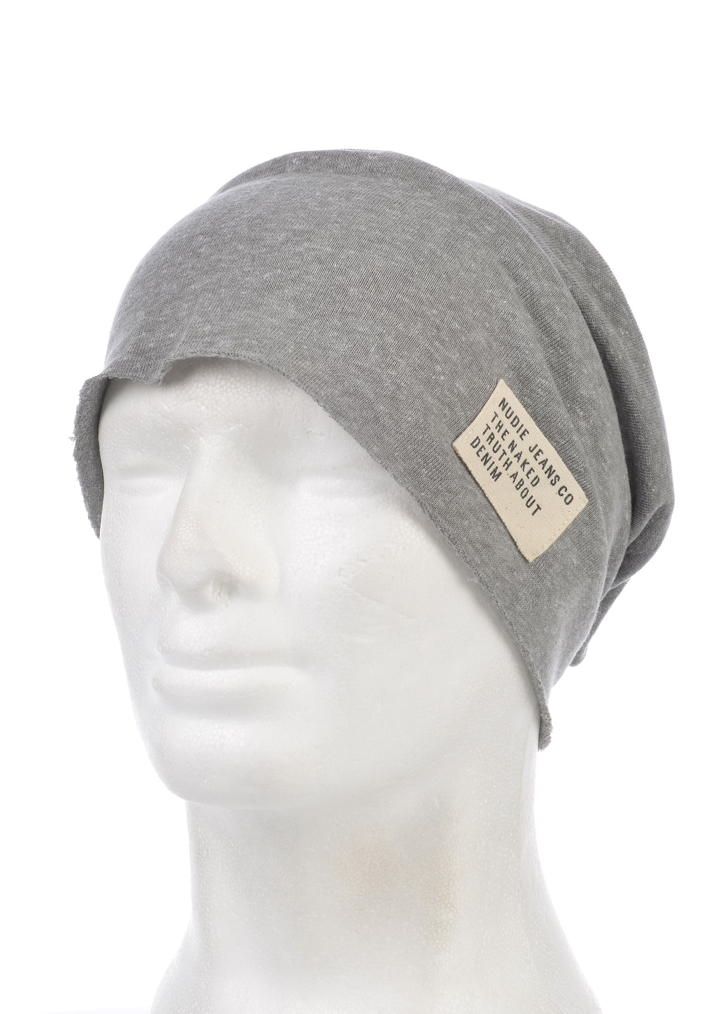 NUDIE JEANS Luigisson - Beanie for Men - Grey - Planet Sports 45a83072d787