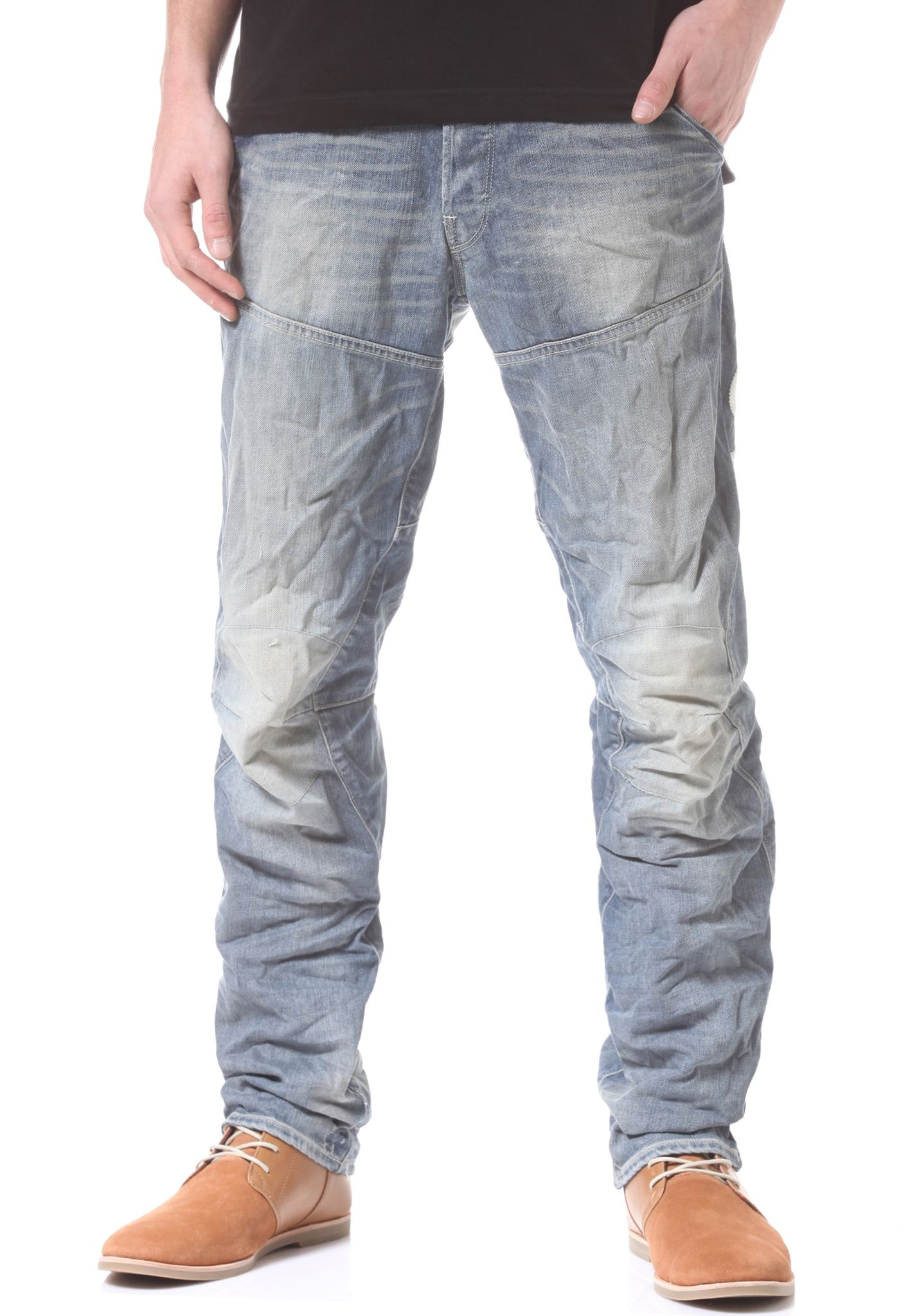 G-Star Mens Motor 5620 Embro Tapered Jeans G-Star