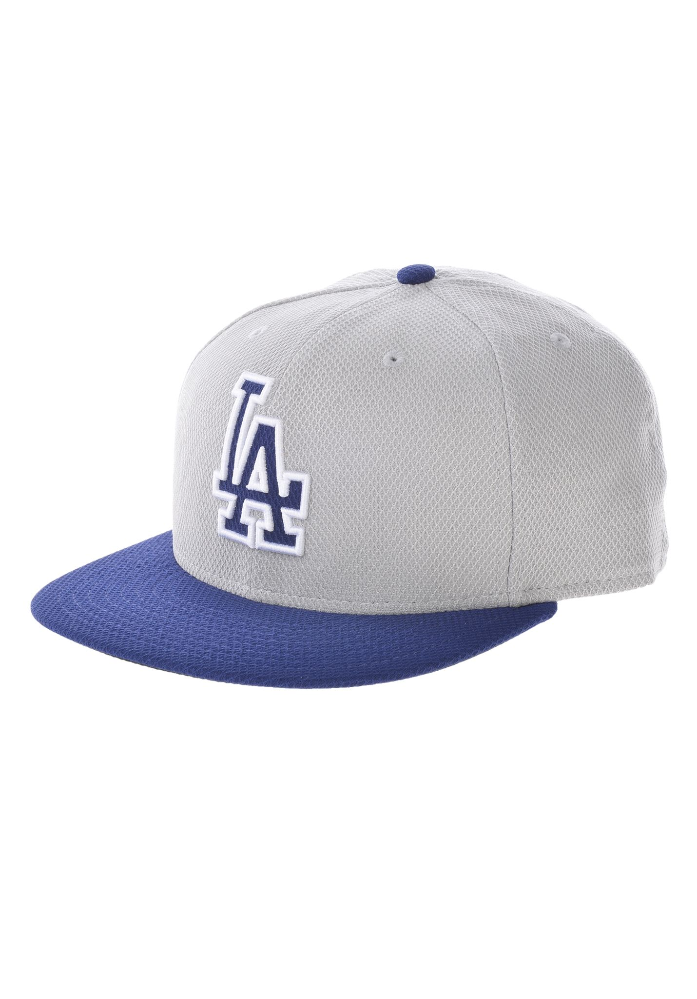 80b66e11f NEW Era 59Fifty Diamond Los Angeles Dodgers - Fitted Cap - Grey - Planet  Sports