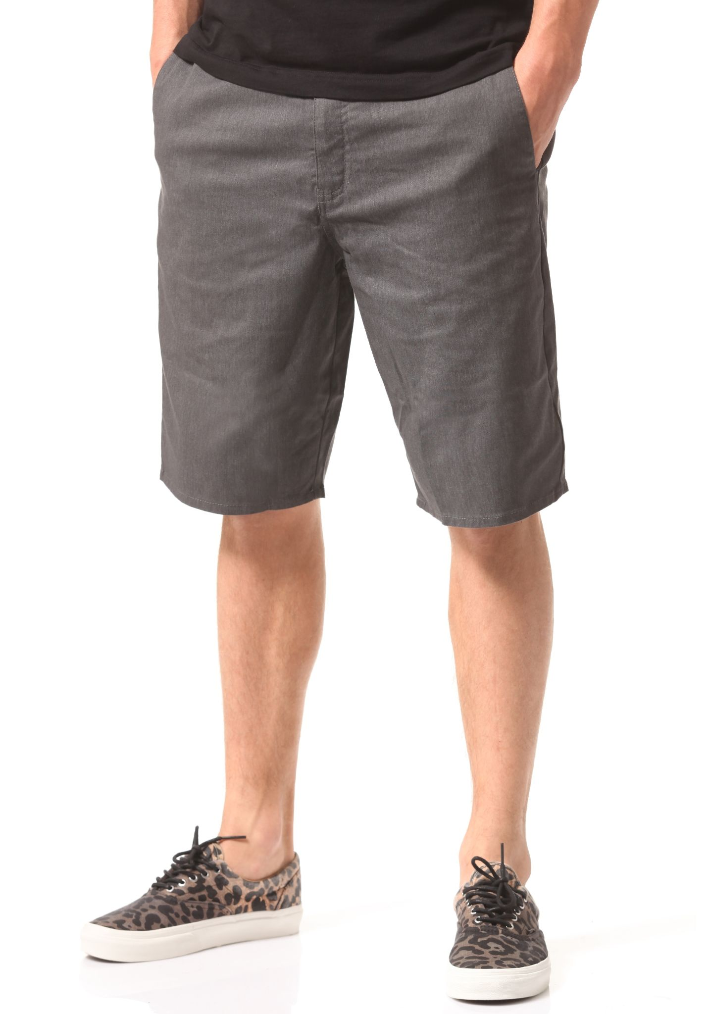 Volcom Frickin Modern Stretch - Chino Shorts for Men - Grey ...