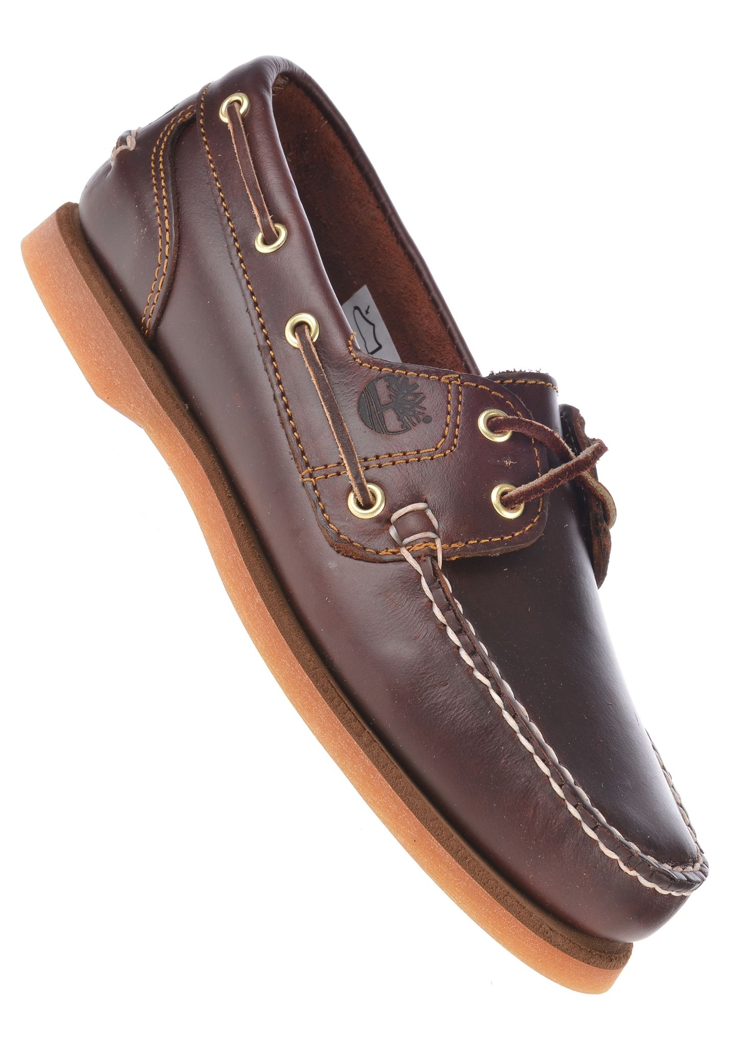 TIMBERLAND Classic Boat 2 Eye - Fashion Shoes for Women - Brown - Planet Sports