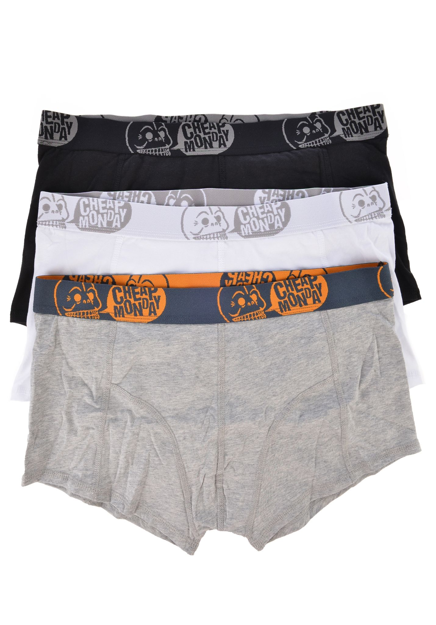 Cheap Monday 3-pack Trunk Underwear - Underwear for Men - Black ...