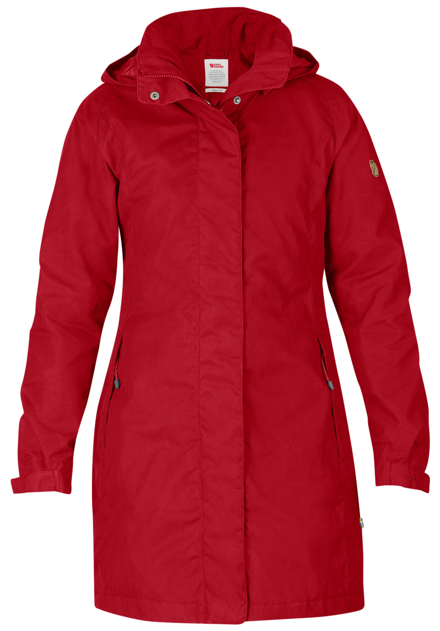FJÄLLRÄVEN Una - Functional Jacket for Women - Red - Planet Sports