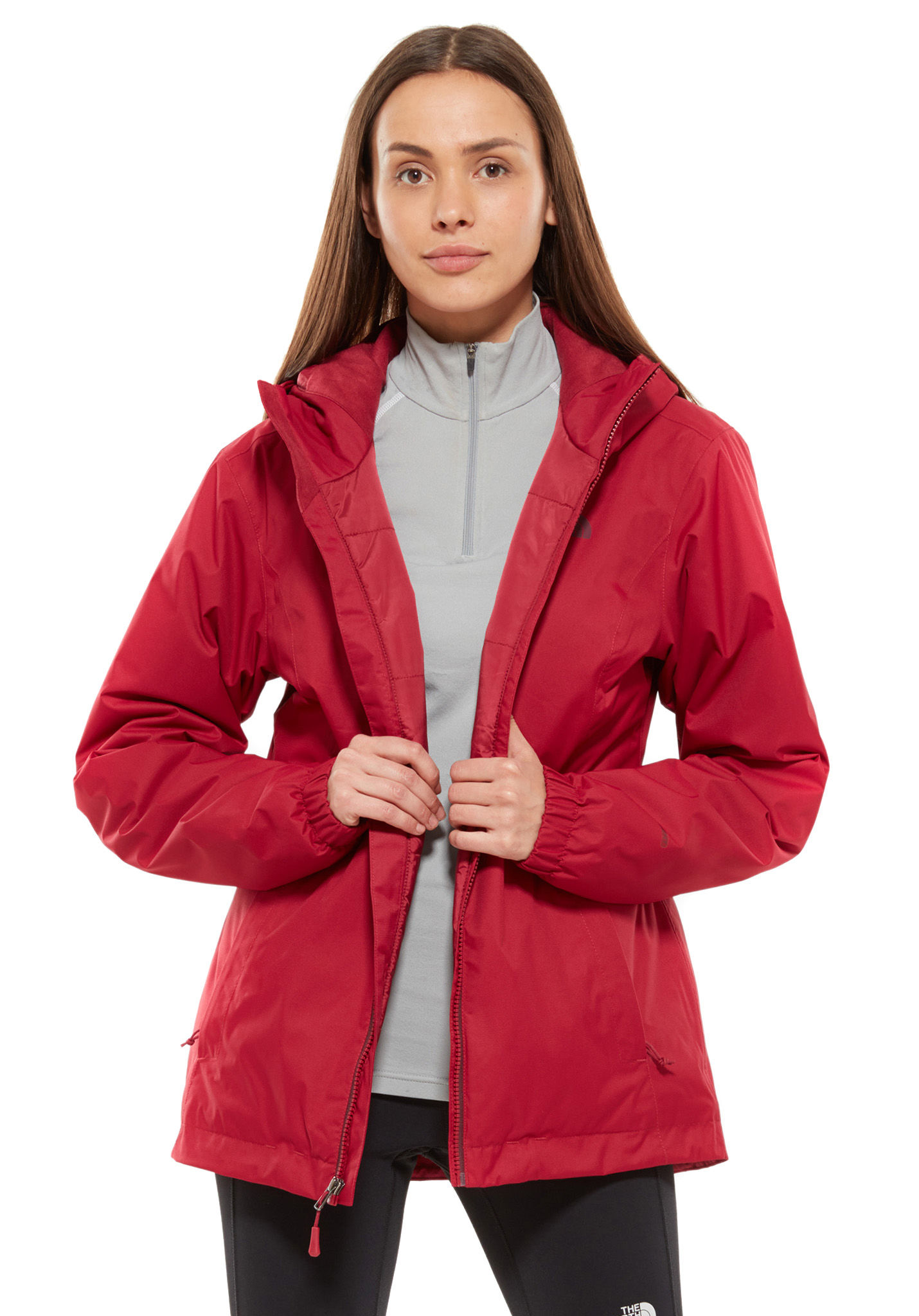 cheap for discount e32fe 12cd0 THE NORTH FACE Quest Insulated - Functional Jacket for Women - Red