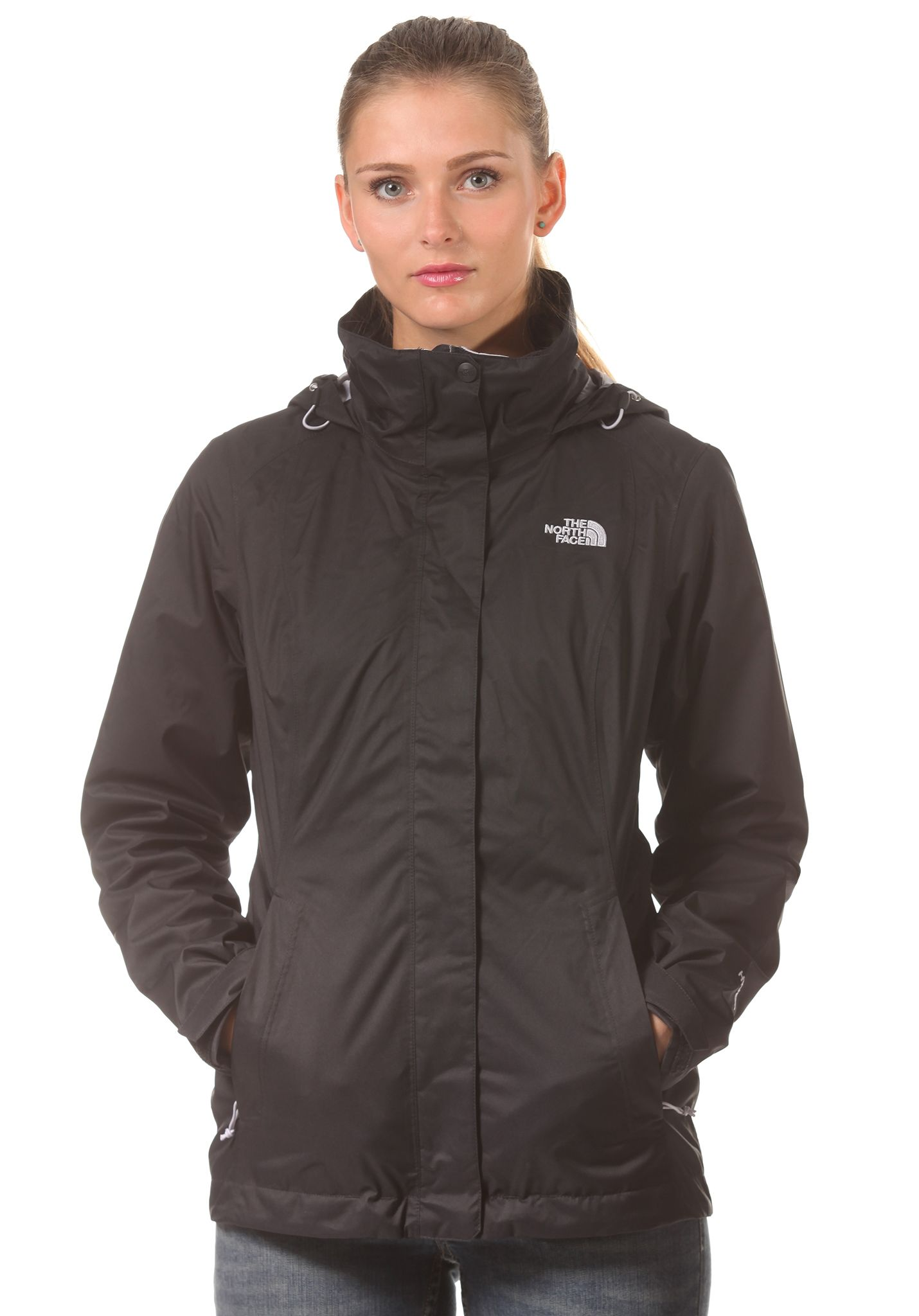 00c3e24befbdc THE NORTH FACE Evolve II Triclimate - Chaqueta funcional para Mujeres -  Negro - Planet Sports