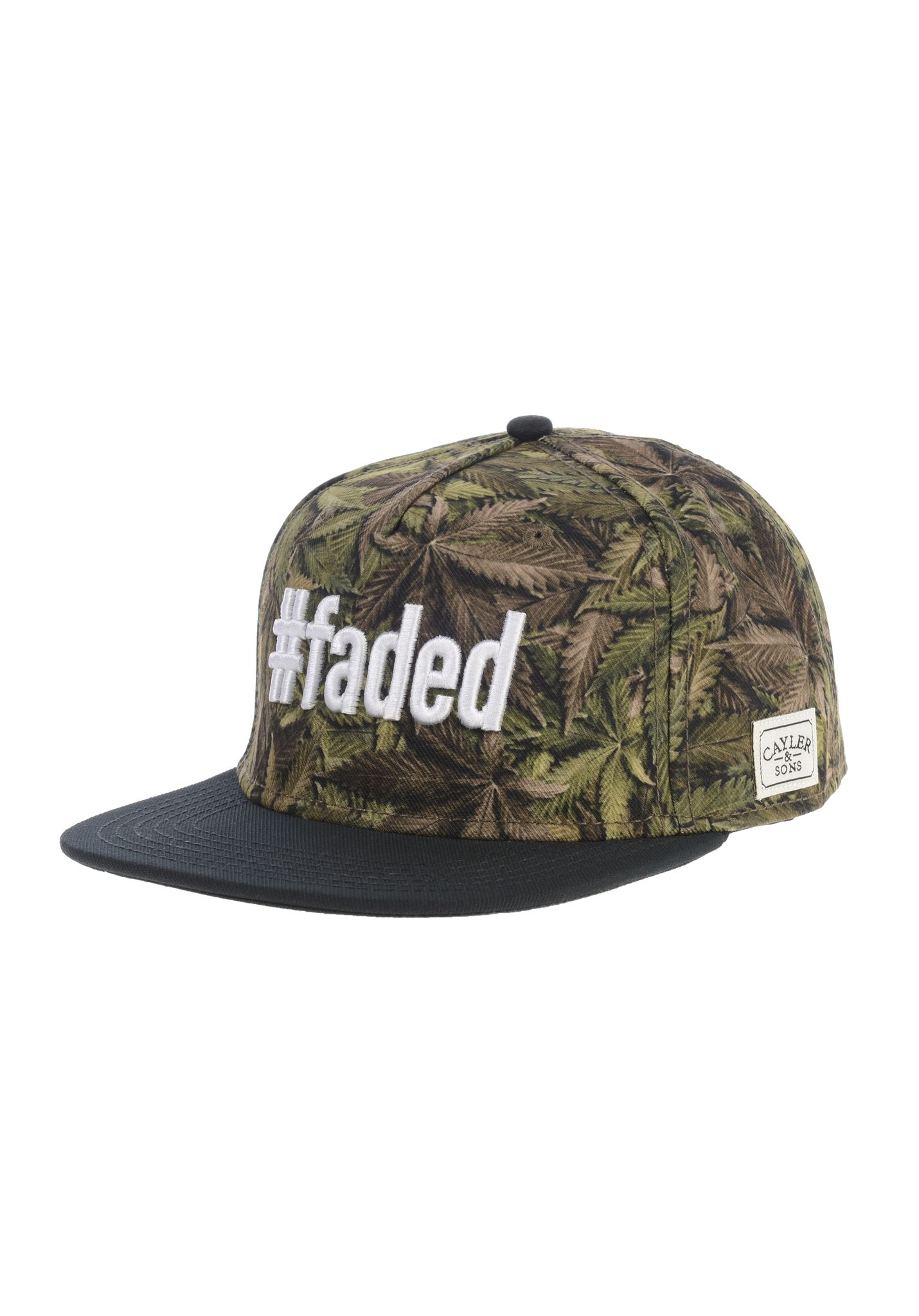 Cayler   Sons  Faded - Snapback Cap - Green - Planet Sports 48d0c3a51c6