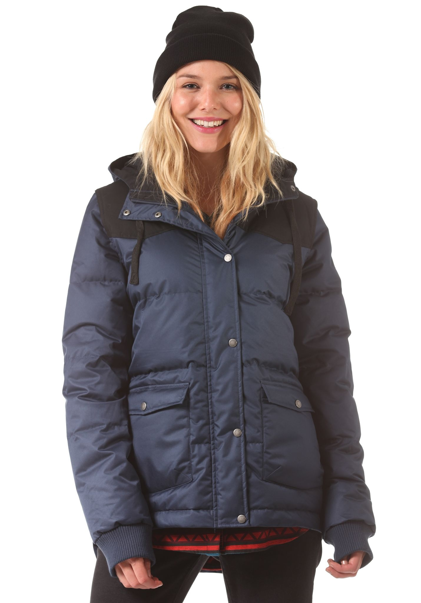 NIKITA Exploring Down - Jacket for Women - Blue - Planet Sports
