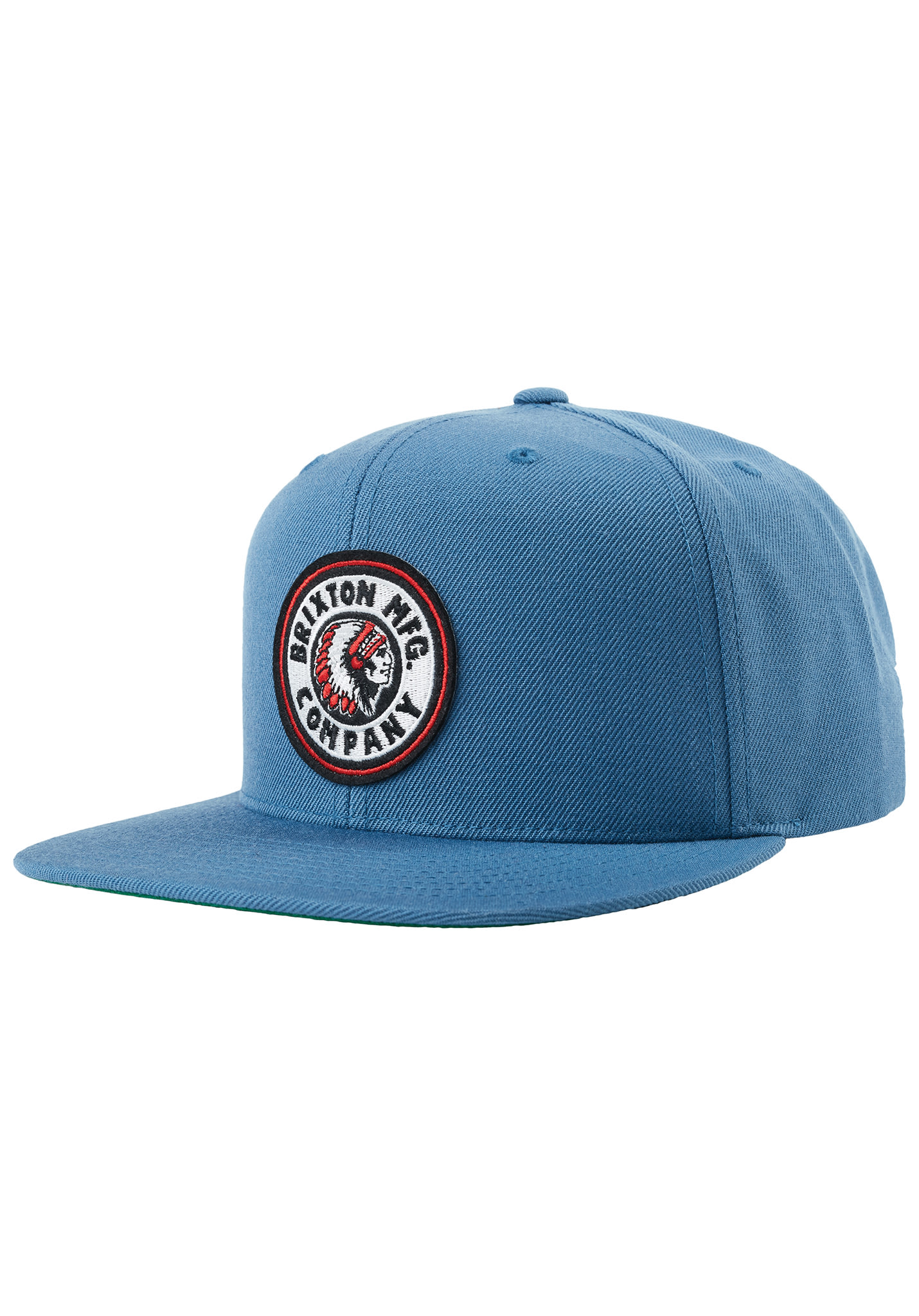 e3df8942 BRIXTON Rival - Snapback Cap - Blue - Planet Sports