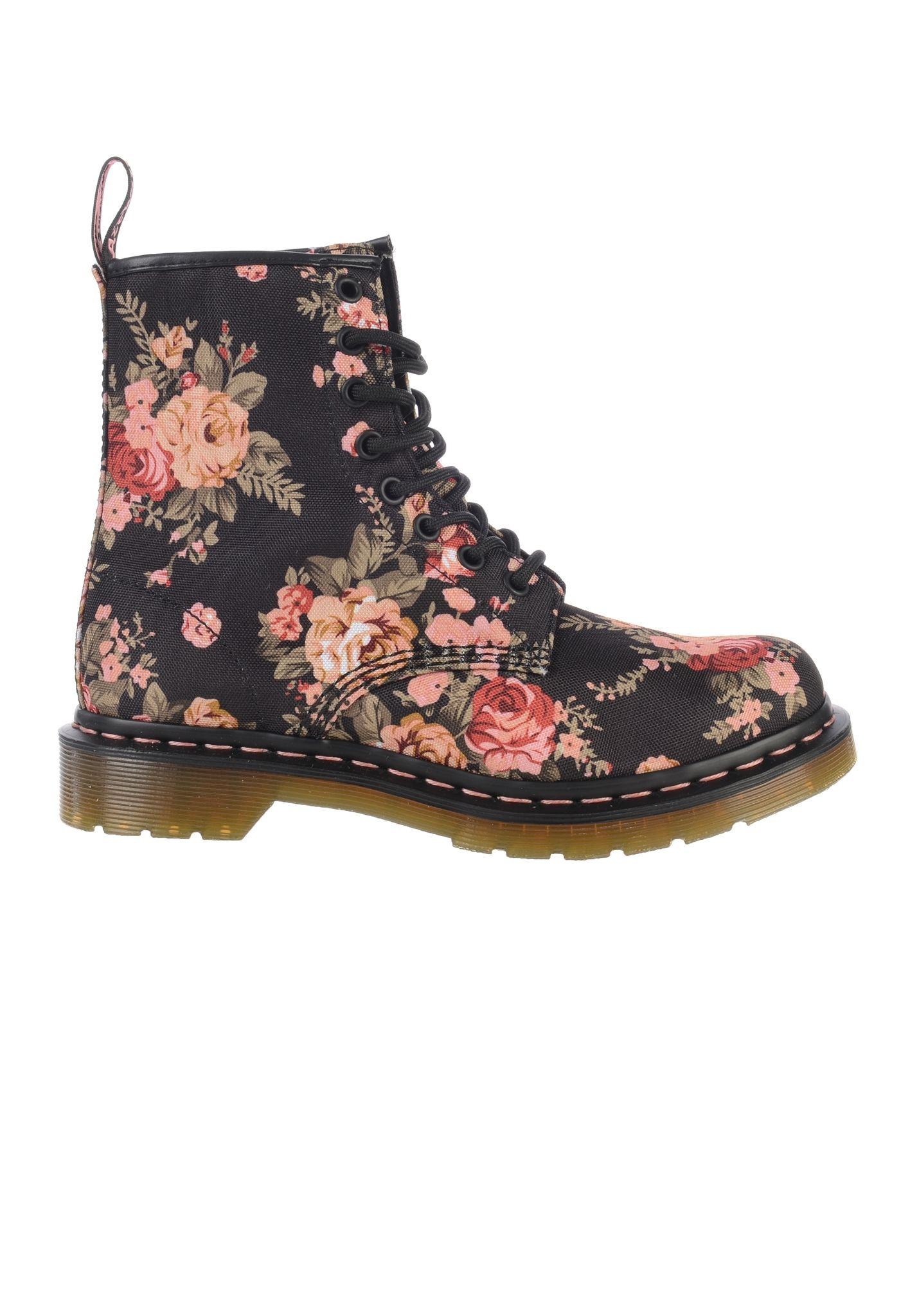 Dr. Martens 1460 Victorian Flowers - Boots for Women - Black - Planet Sports f88fe1a78