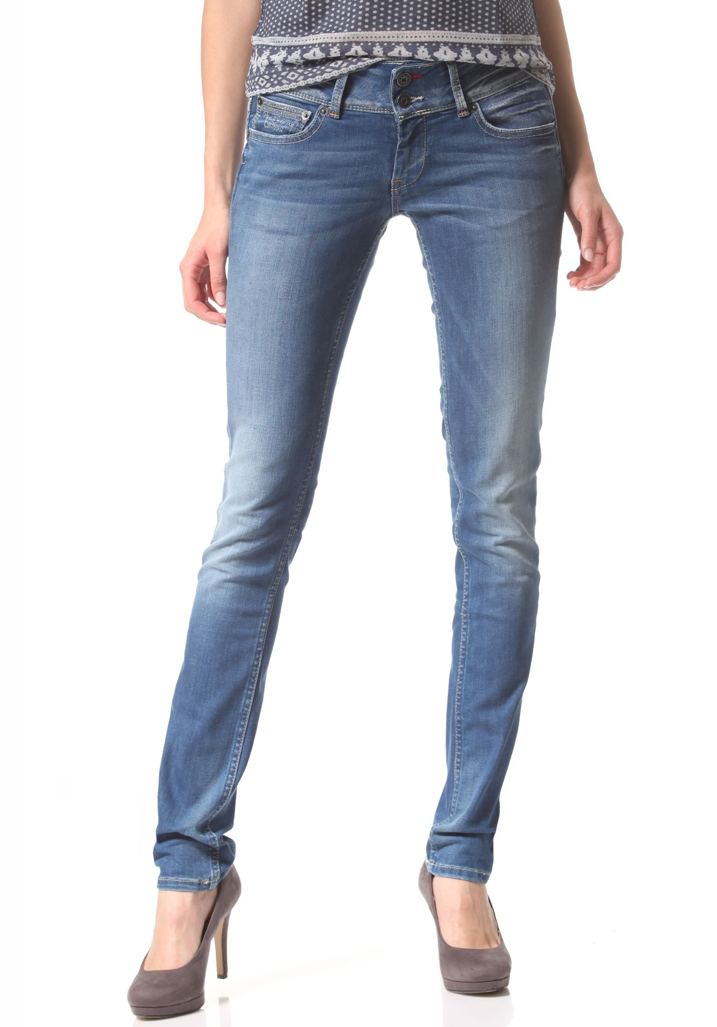 27191324787 PEPE JEANS Edition - Denim Jeans for Women - Blue - Planet Sports