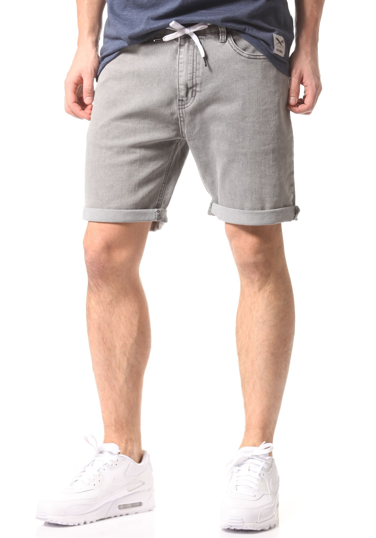Iriedaily Slim Shot2 Denim - Shorts for Men - Grey - Planet Sports