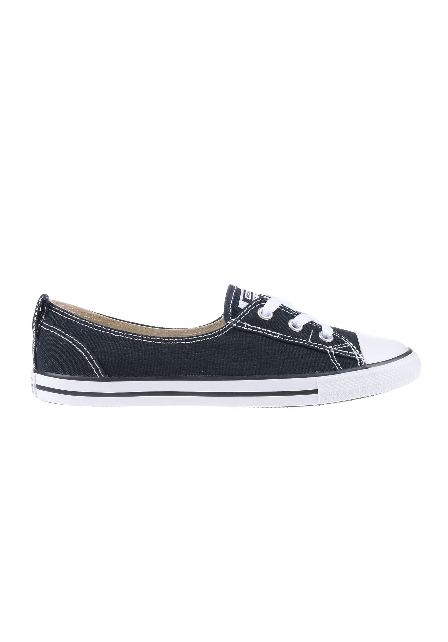 5e82568b9ee1a8 Converse Chuck Taylor All Star Ballet Lace - Sneakers for Women - Black -  Planet Sports