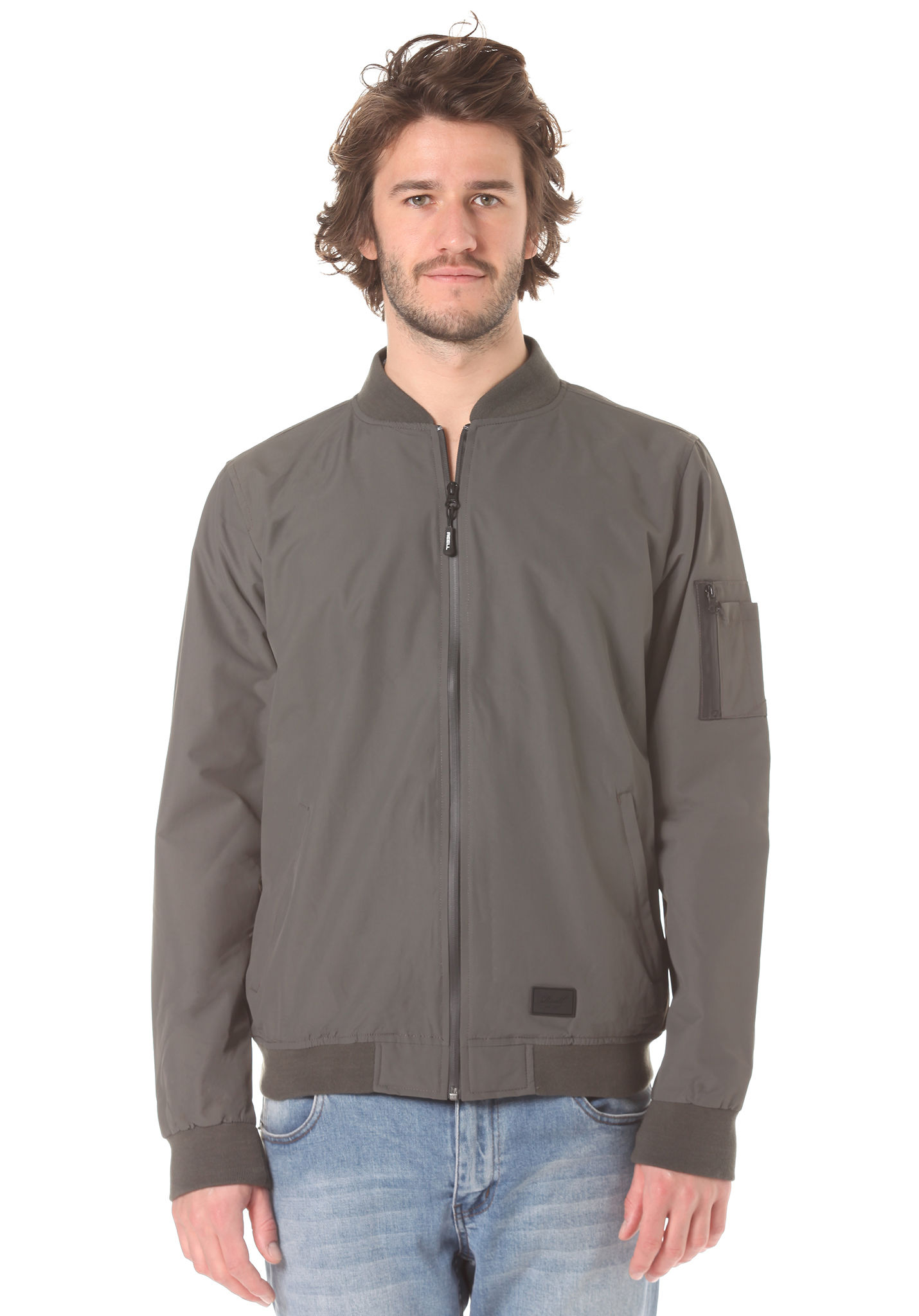 Reell Technical Flight - Jacket for Men - Grey - Planet Sports