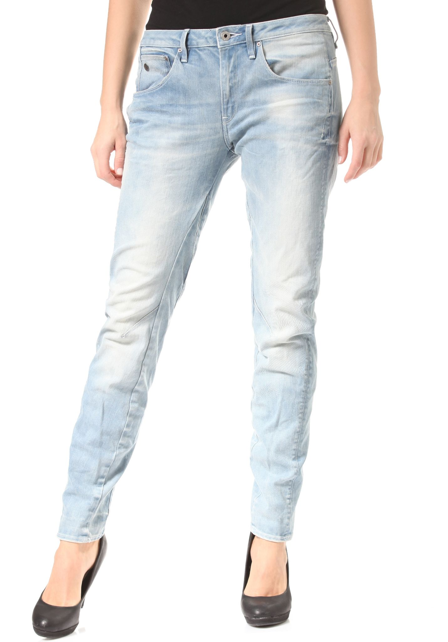 G-STAR Arc 3D Low Boyfriend - Olary Stretch - Denim Jeans for ...
