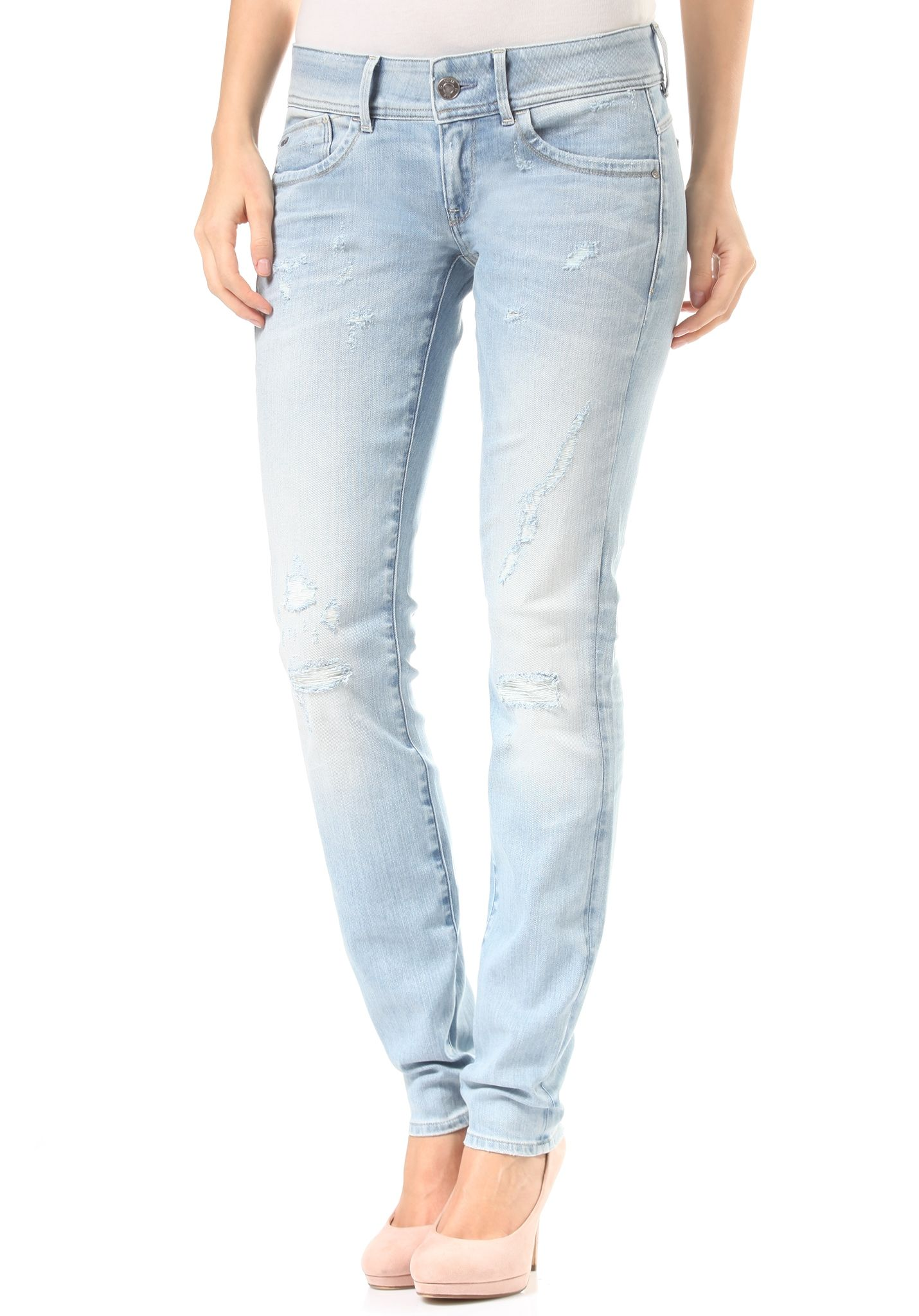 G star raw lynn zip skinny superstretch jeans