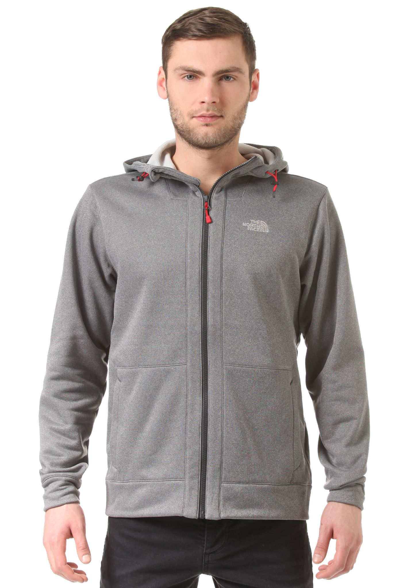 THE NORTH FACE Mittellegi Full Zip - Hooded Jacket for Men - Grey - Planet  Sports aeb80d0bed