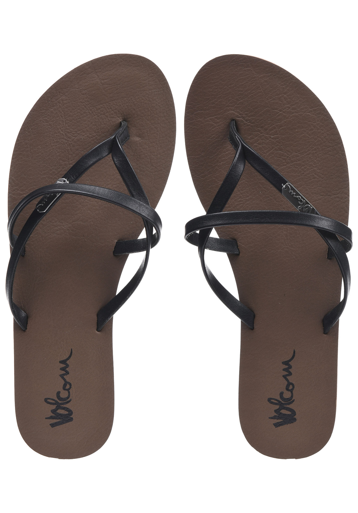 Volcom All Night Long - Sandals for Women - Black - Planet Sports 5a01a8f102