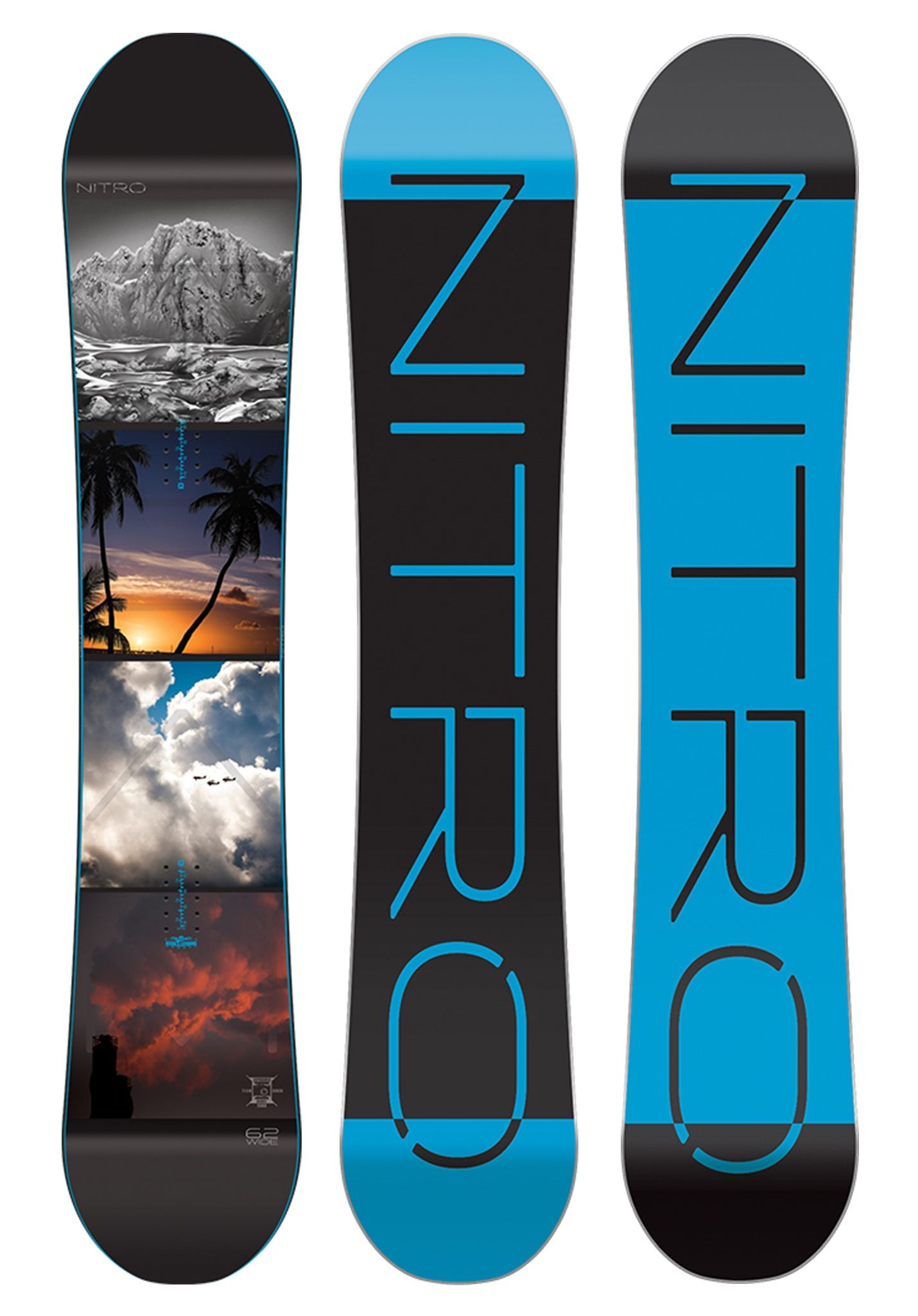 NITRO Team Exposure Wide Gullwing 162cm - Snowboard for Men - Multicolor -  Planet Sports 65c26440841a
