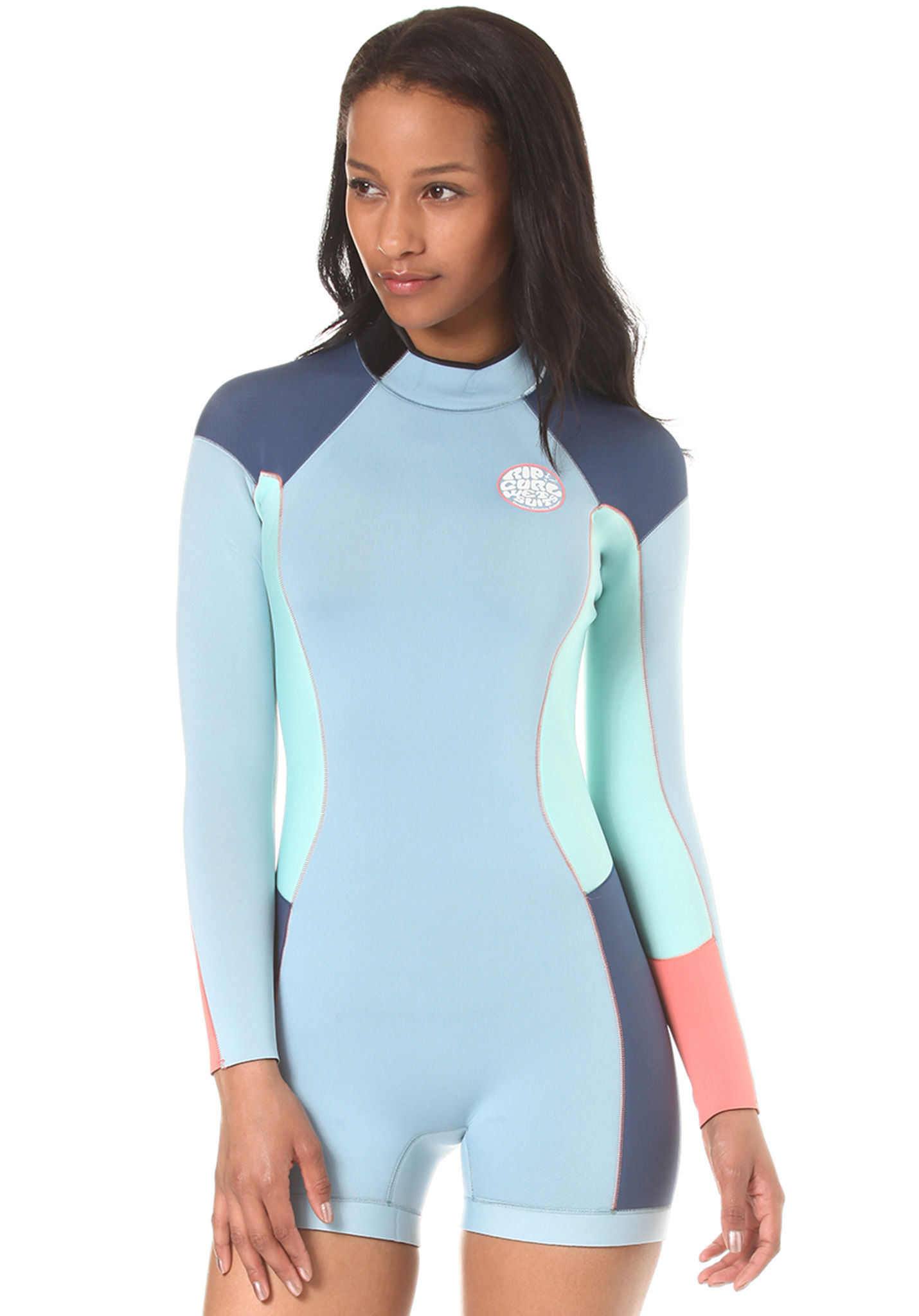 Rip Curl Dawn Patrol 2 2mm L S Back Zip - Wetsuit for Women - Blue - Planet  Sports 30a567f91
