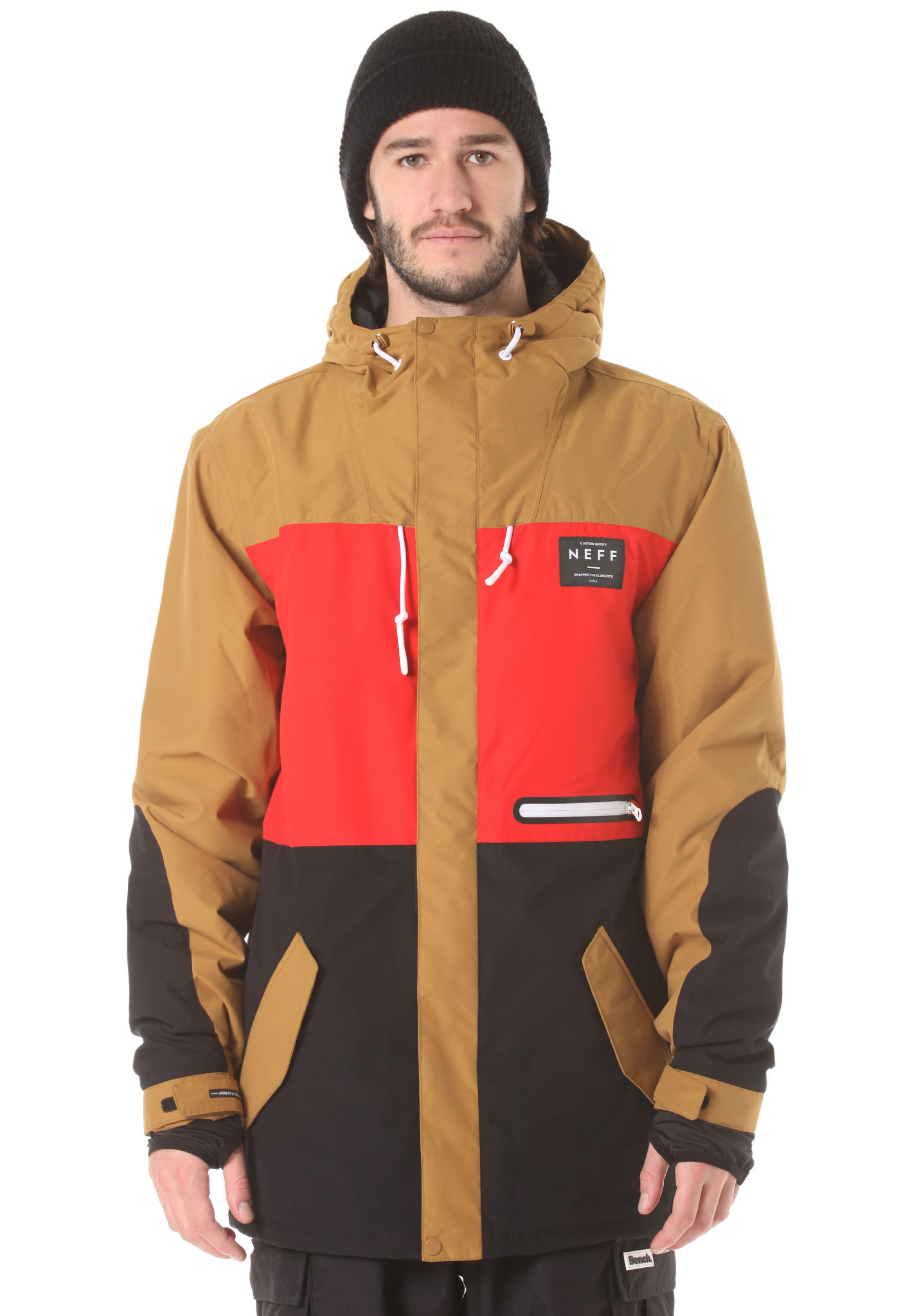 14edf1412 NEFF Trifecta 2 - Snowboard Jacket for Men - Multicolor - Planet Sports