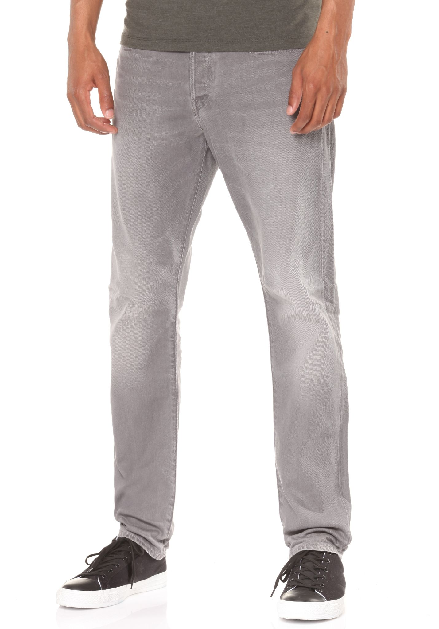 6faa2bb4 G-STAR 3301 Tapered Dust - Denim Jeans for Men - Grey - Planet Sports