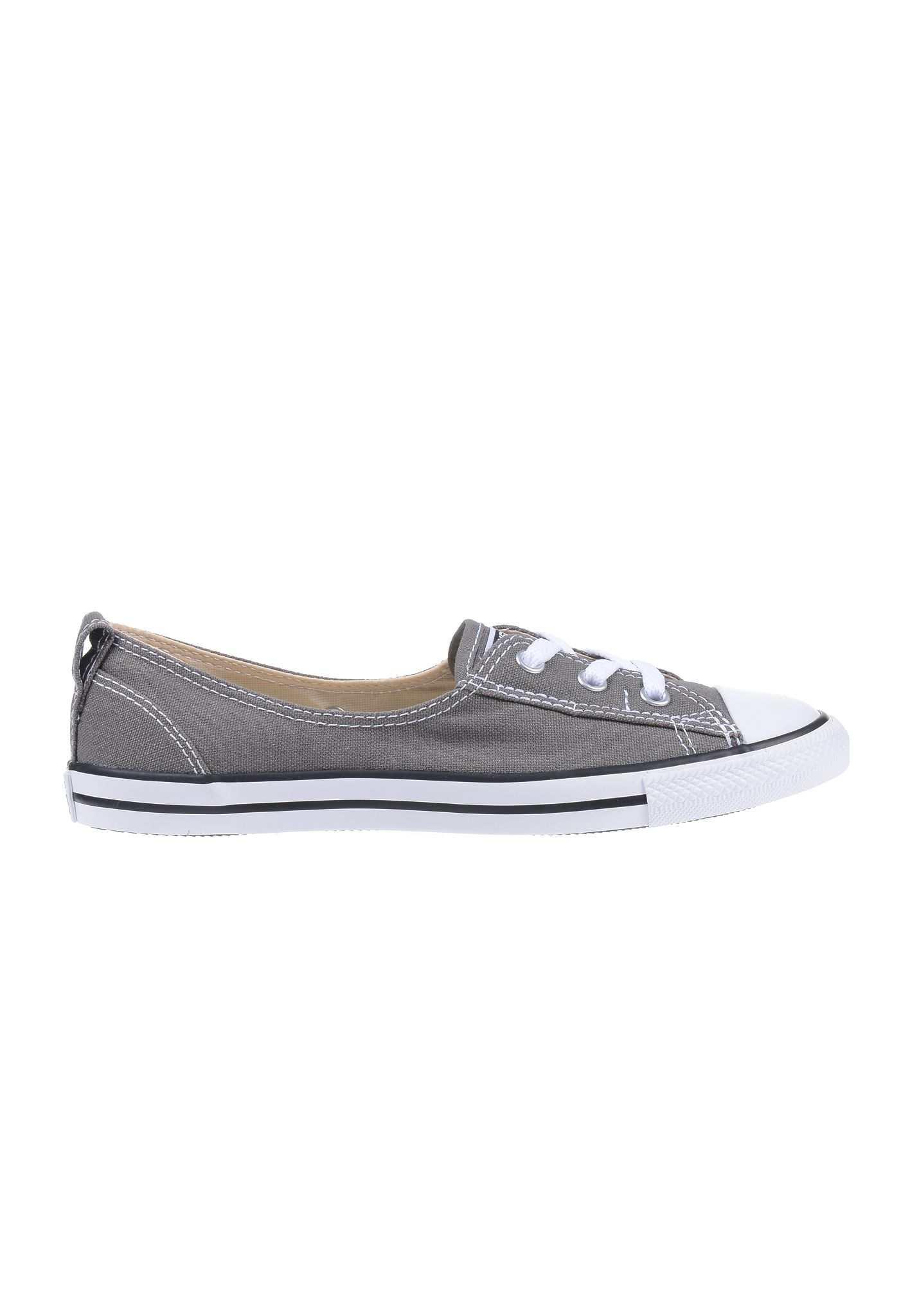 Converse Chuck Taylor All Star Ballet Lace Trainers Color: Grey