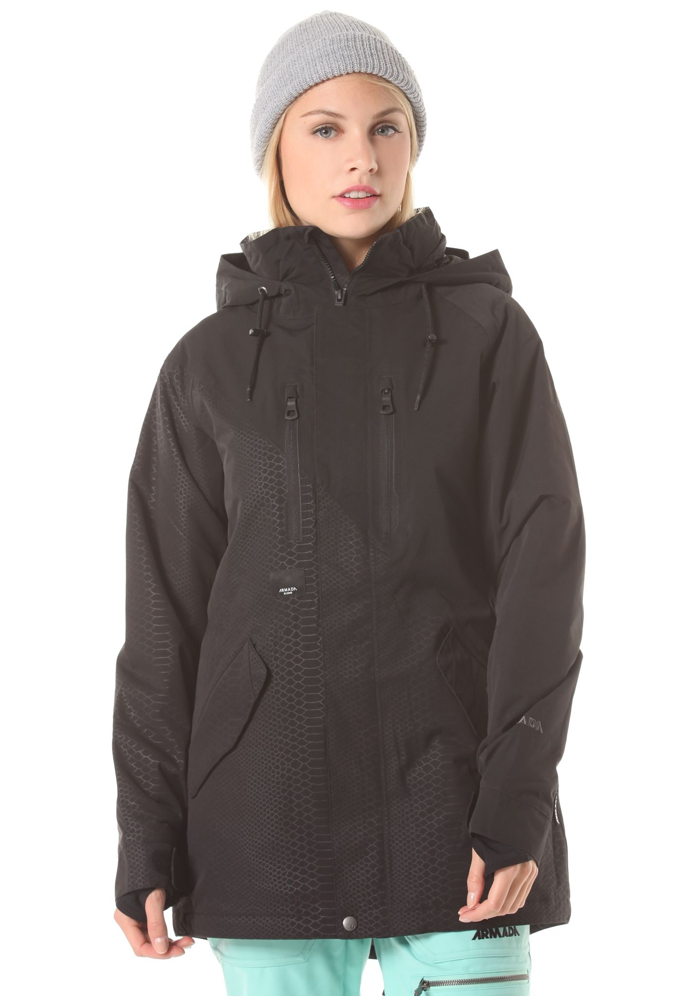 b40c91389e ARMADA Stadium Insulated - Snowboard Jacket for Women - Black - Planet  Sports