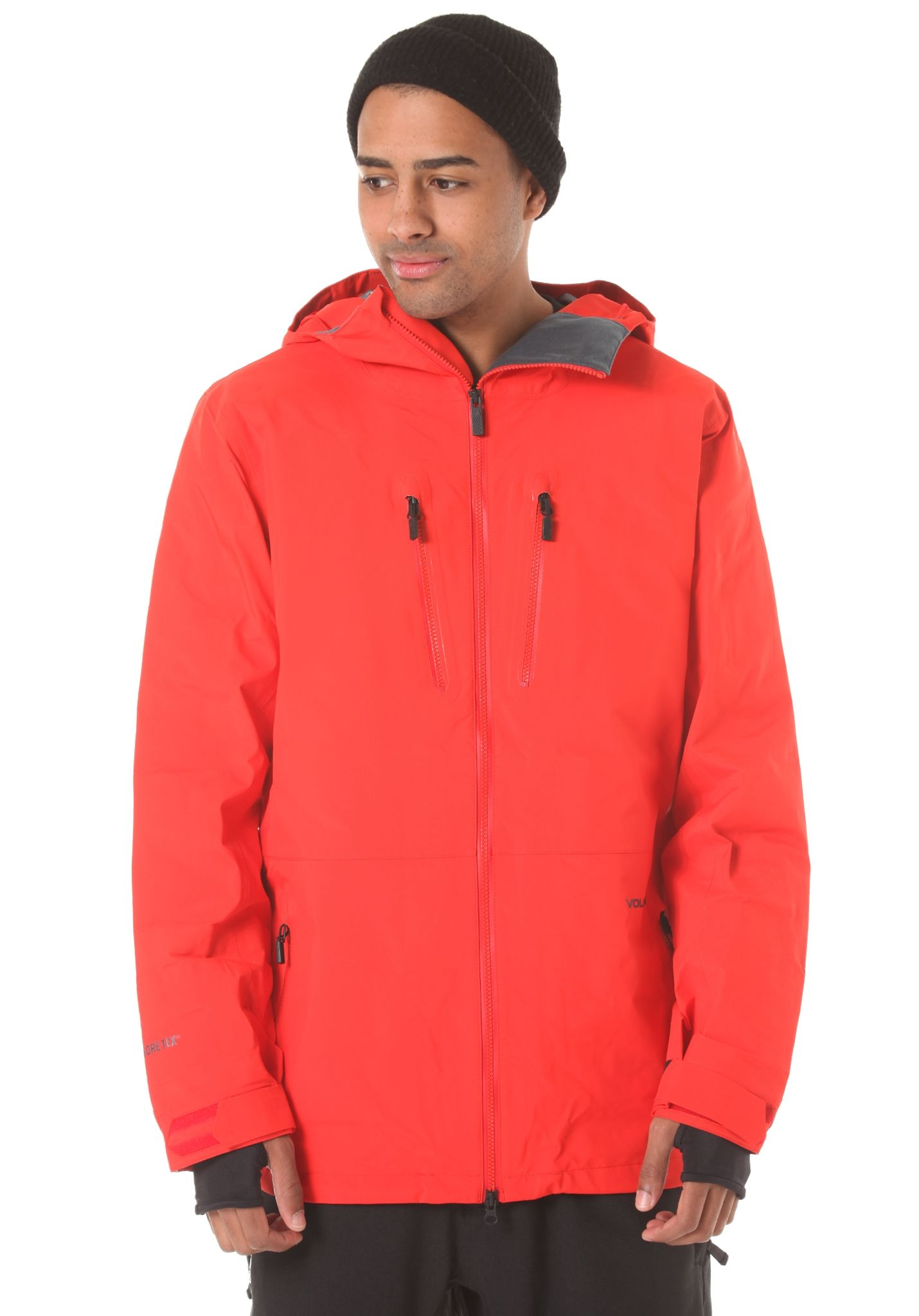 561a59e3ab Volcom Air Tds Gore-Tex - Snowboard Jacket for Men - Red - Planet Sports