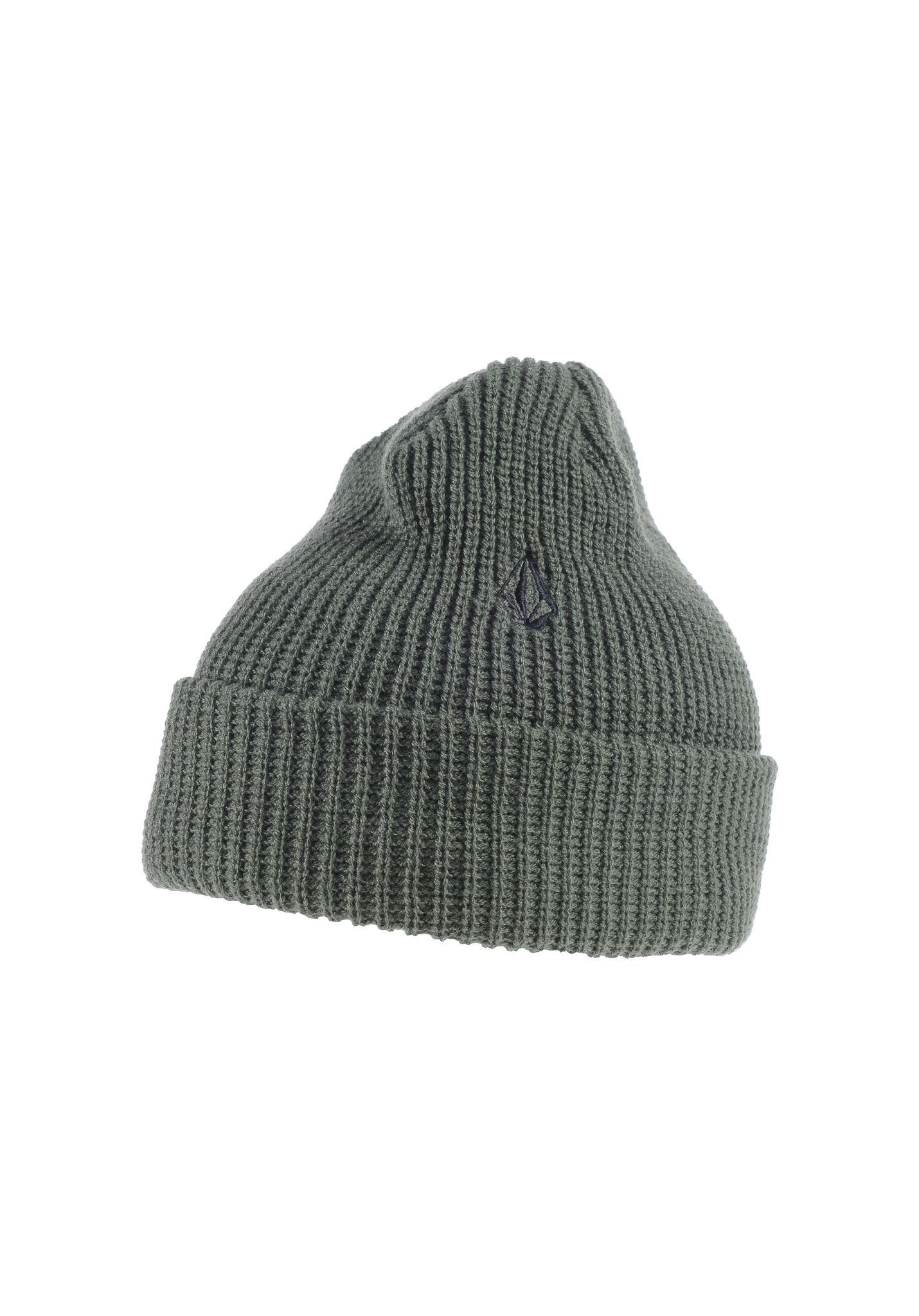 Volcom Full Stone Cuff - Beanie for Men - Green - Planet Sports 67fe66062454
