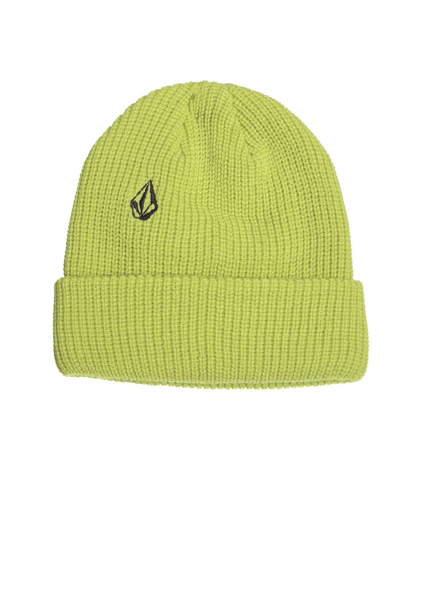 Volcom Full Stone Cuff - Beanie for Men - Yellow - Planet Sports cdc0f3020d06