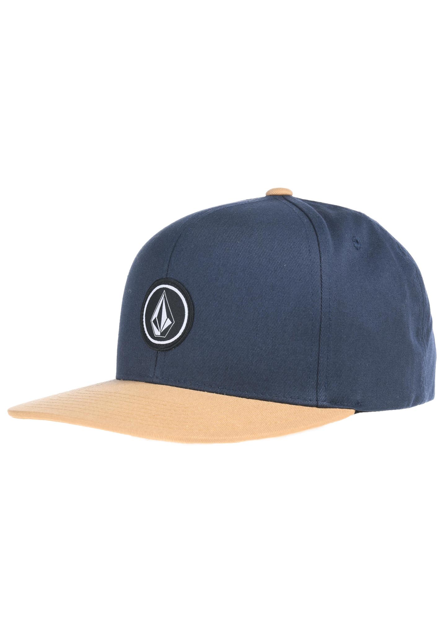 580d459f986d39 Volcom Quarter Twill - Snapback Cap for Men - Blue - Planet Sports