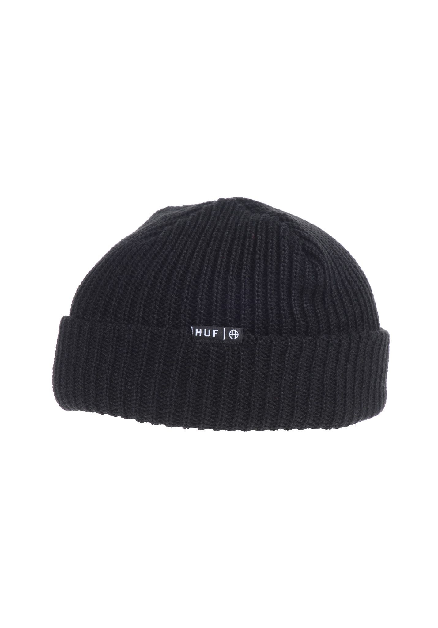 HUF Usual - Beanie for Men - Black - Planet Sports a2c6331db08