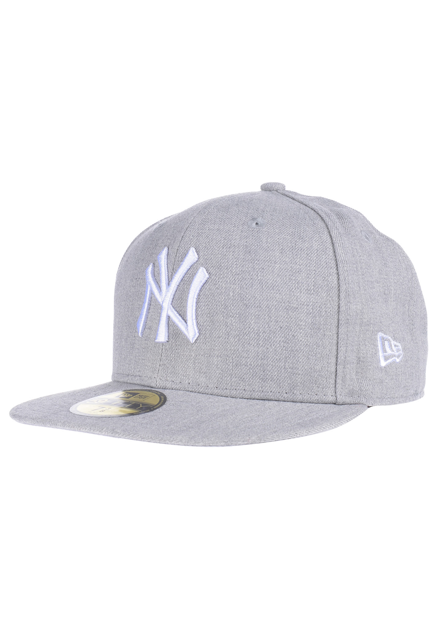55ea821df NEW Era 59Fifty New York Yankees - Fitted Cap - Grey - Planet Sports
