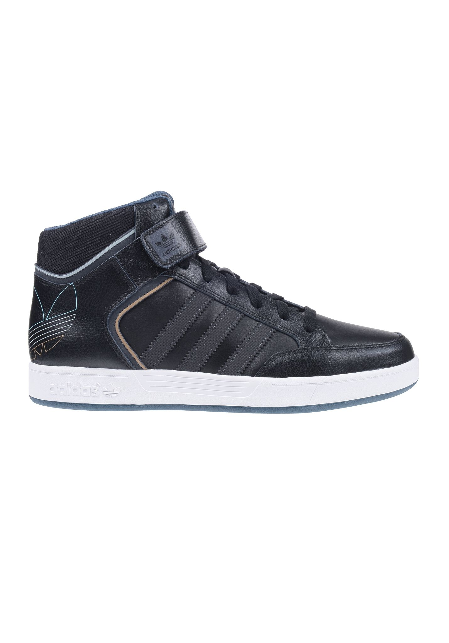 best service bdc04 f7600 ADIDAS Varial Mid Skateboarding - Baskets pour Homme - Noir - Planet Sports