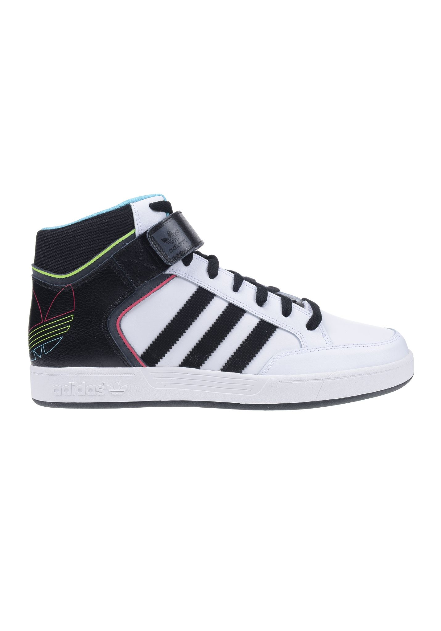 new style 6a4a6 93112 ADIDAS Varial Mid Skateboarding - Sneakers for Men - White - Planet Sports
